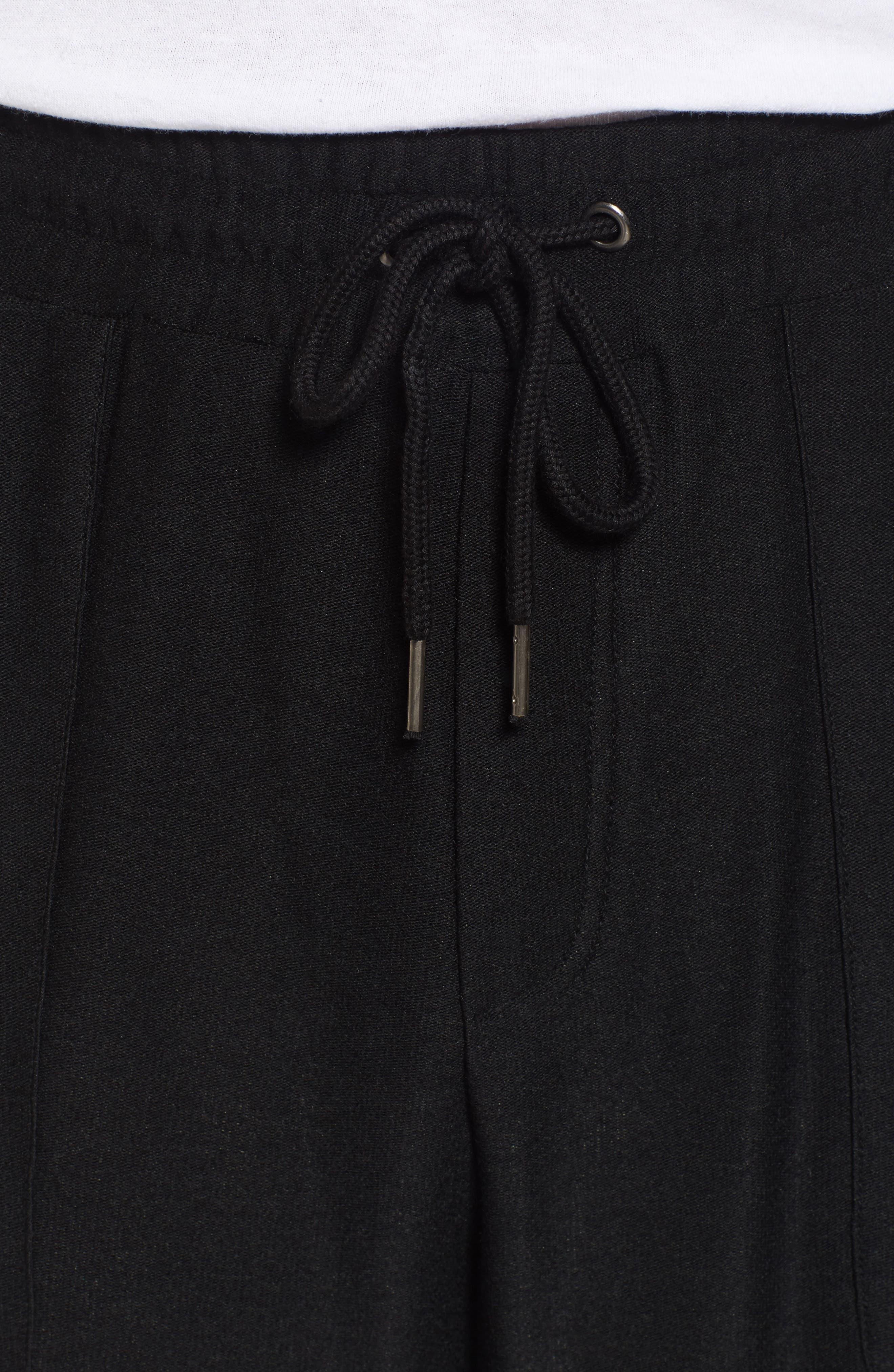 Ultra Soft Jogger Pants,                             Alternate thumbnail 4, color,                             BLACK