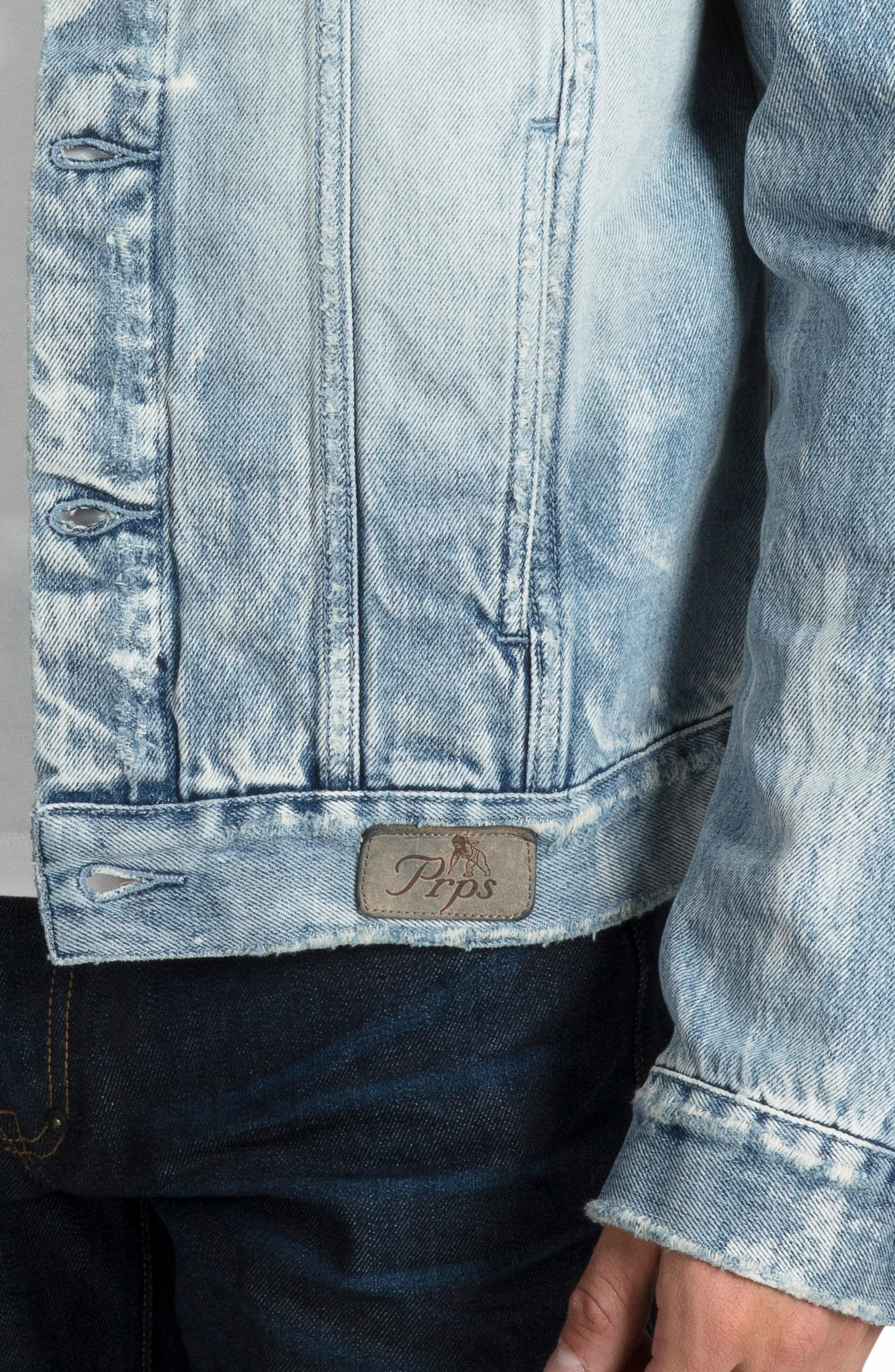 Denim Jacket,                             Alternate thumbnail 4, color,                             490