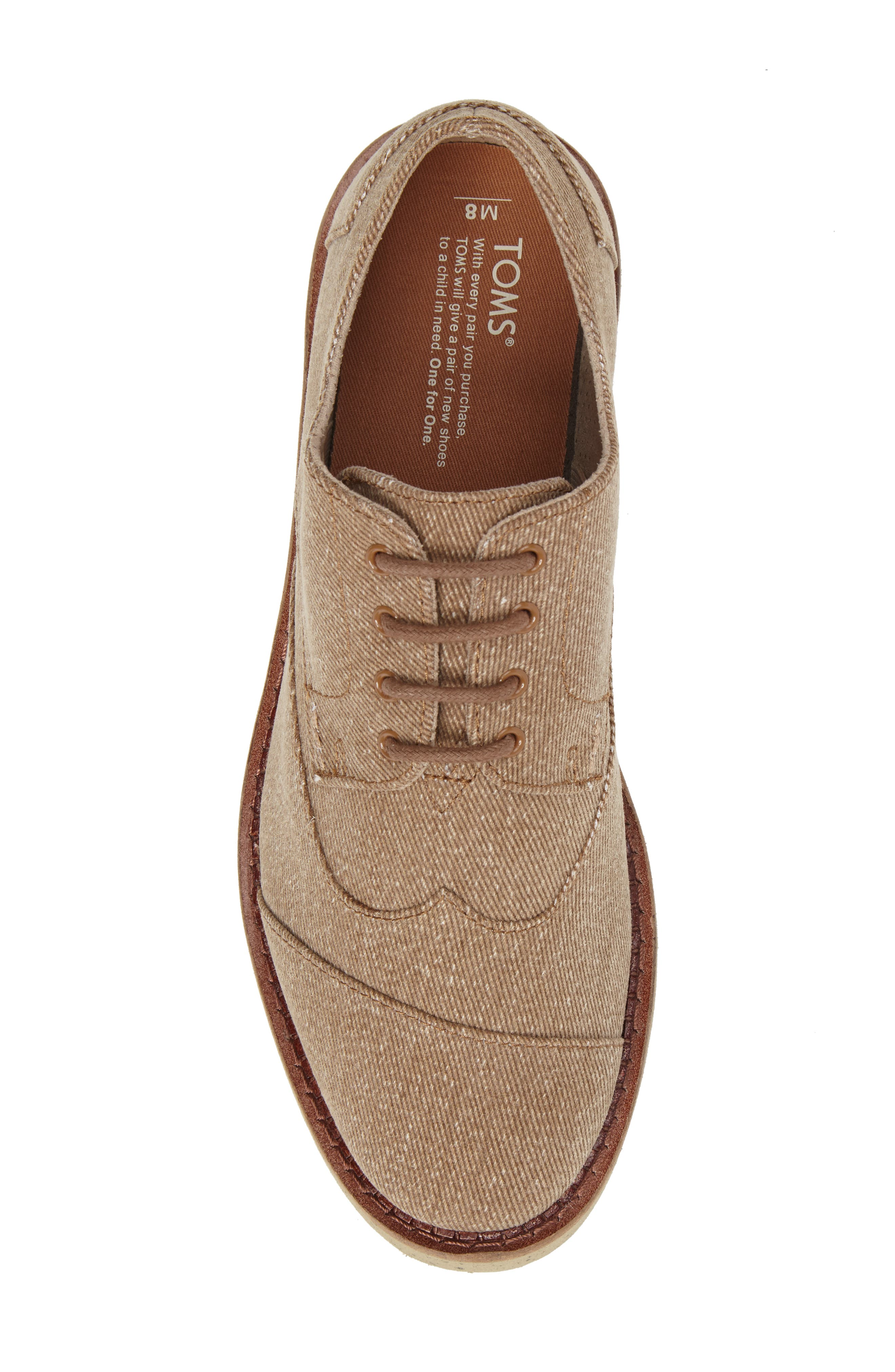 'Classic Brogue' Cotton Twill Derby,                             Alternate thumbnail 67, color,