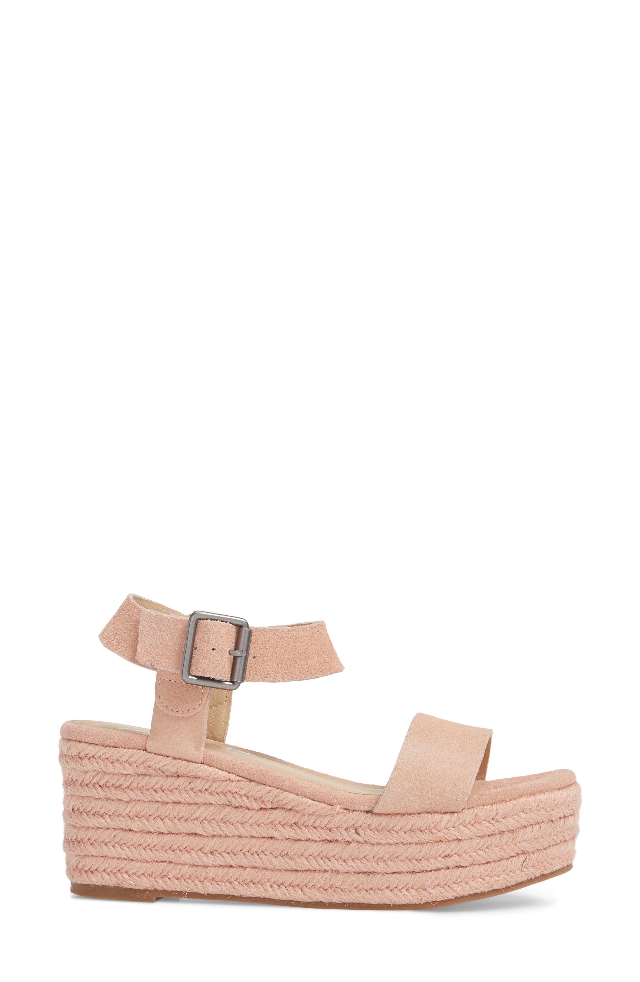 Amuse Society x Matisse Siena Wedge Sandal,                             Alternate thumbnail 9, color,
