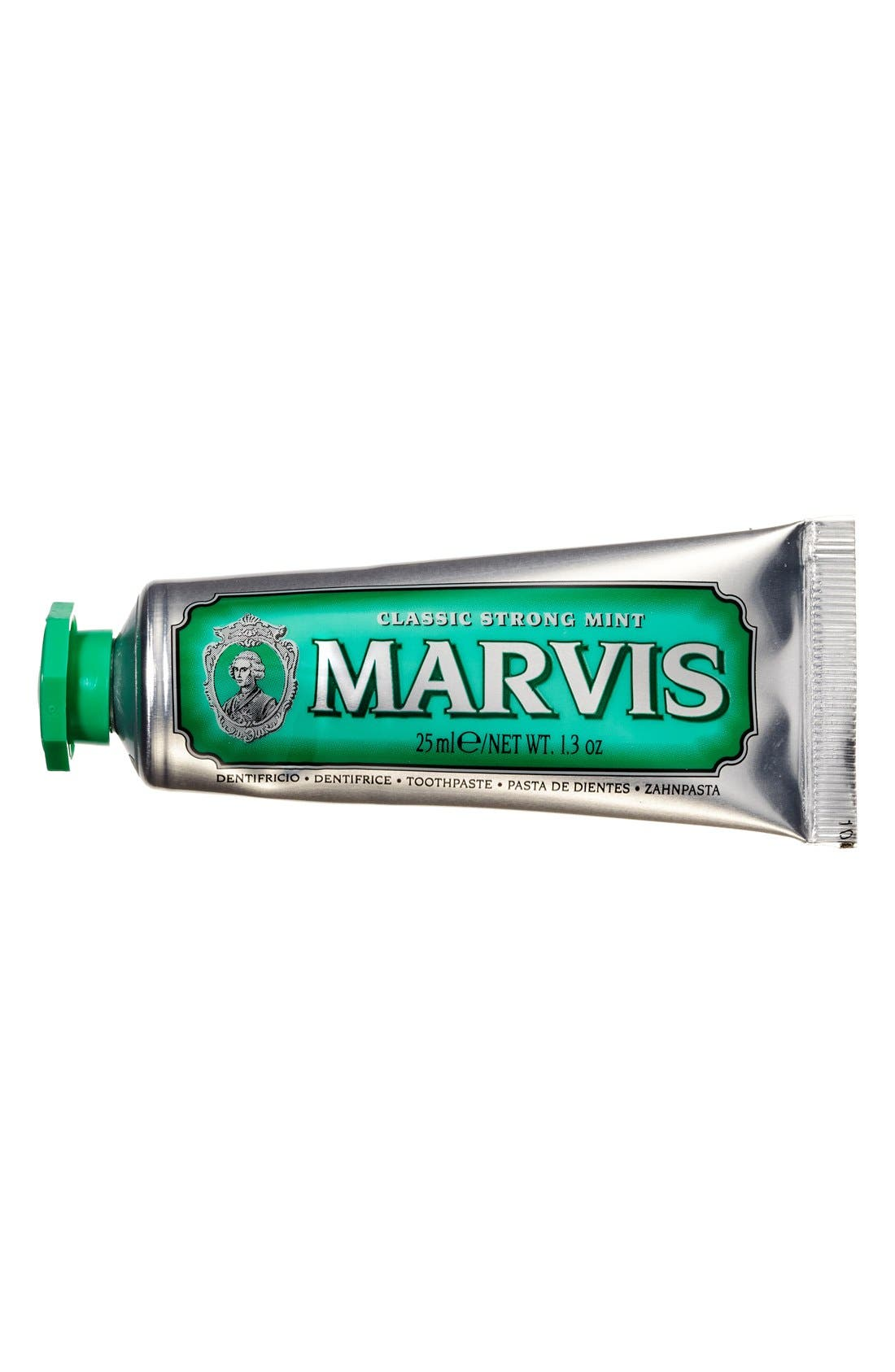'Marvis' Mint Toothpaste,                             Alternate thumbnail 2, color,                             CLASSIC STRONG MINT
