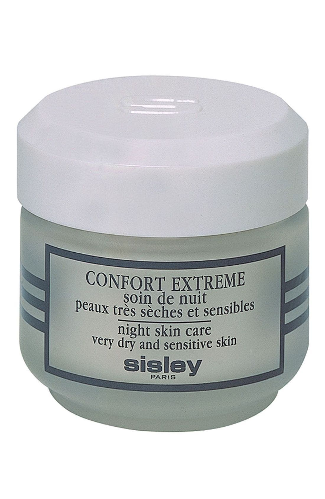 Confort Extrême Night Skin Care,                             Main thumbnail 1, color,                             000