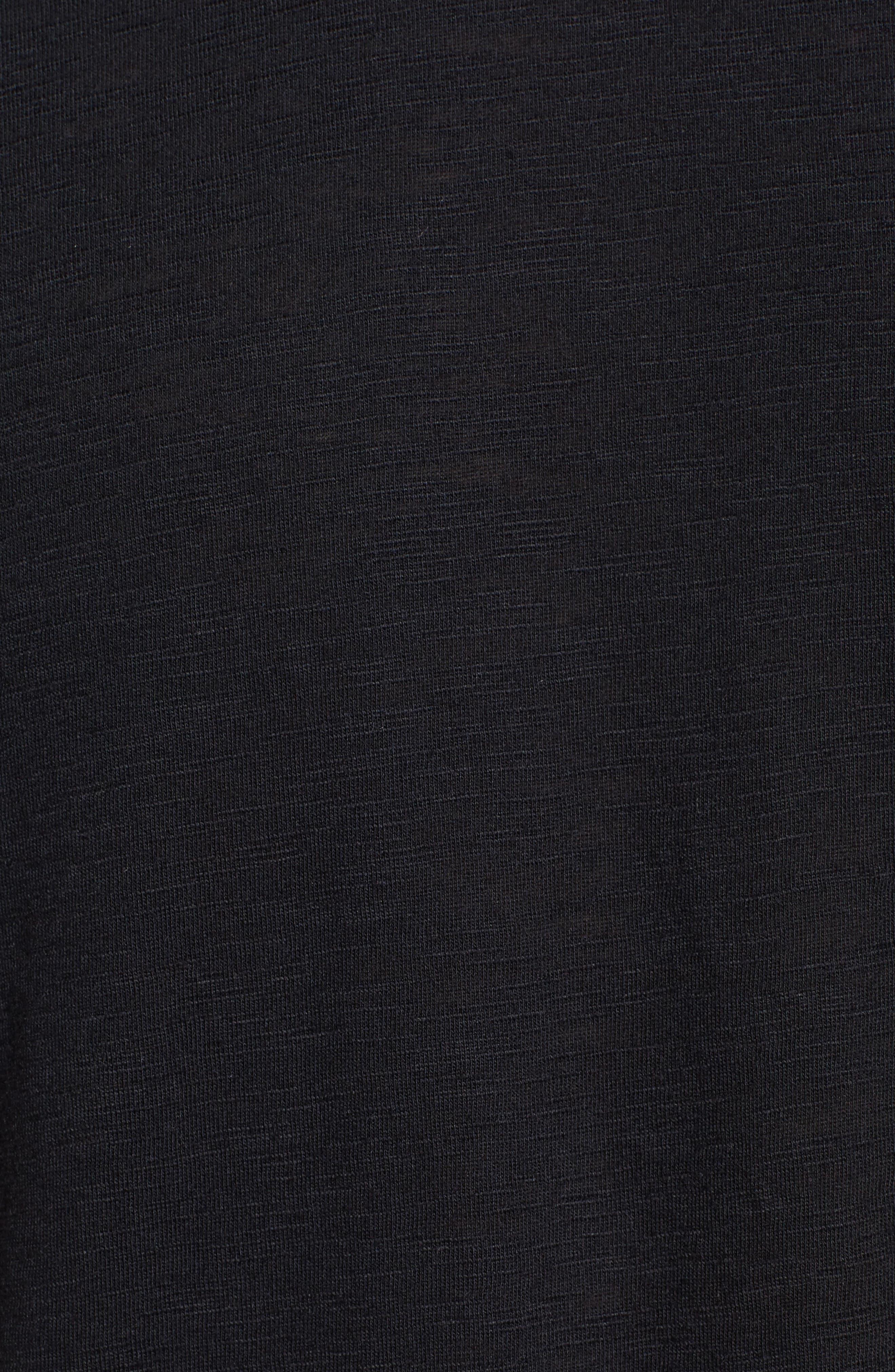 Apel Print Pocket T-Shirt,                             Alternate thumbnail 5, color,                             001