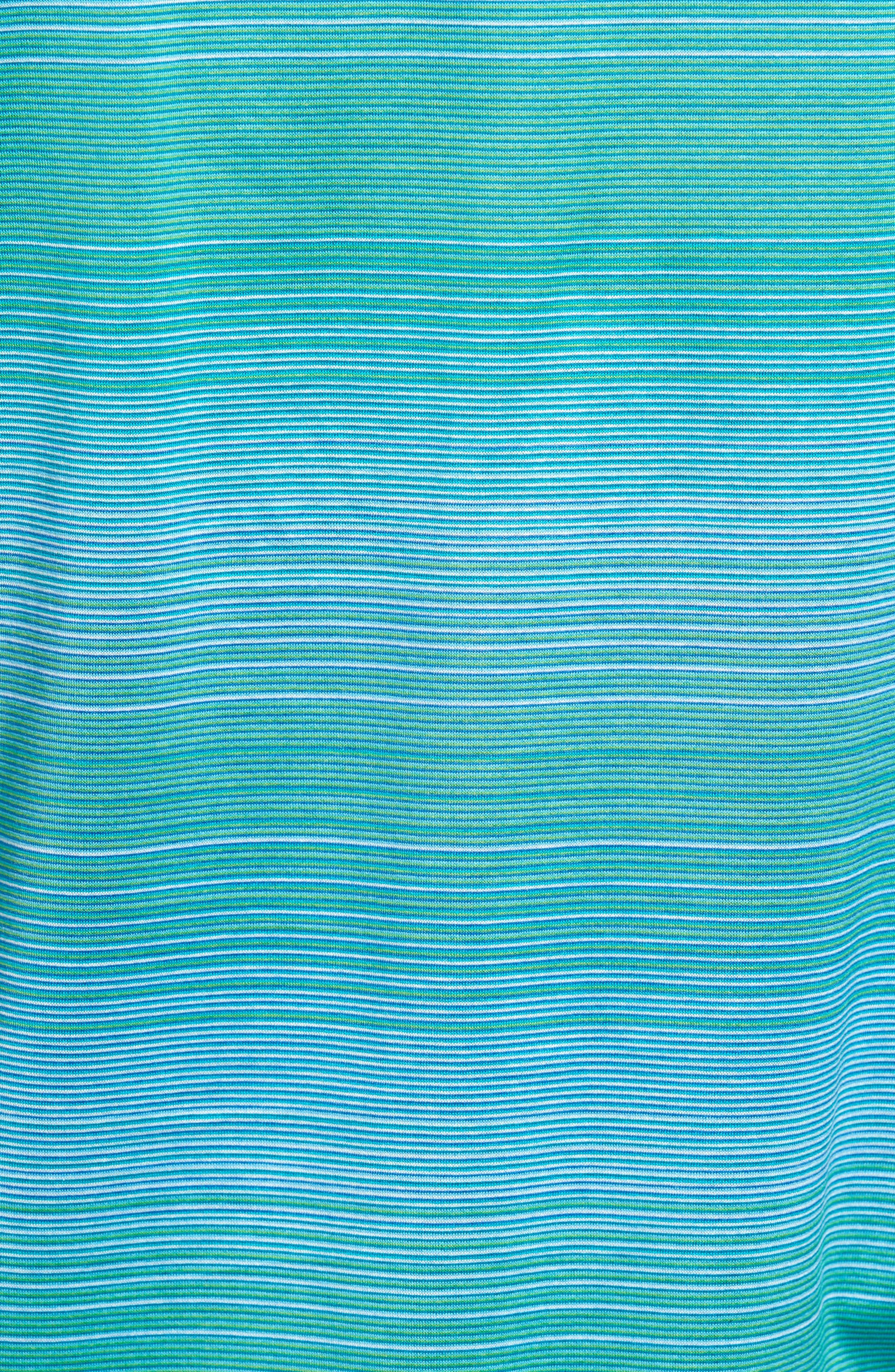 Stripe Jersey Polo,                             Alternate thumbnail 5, color,                             301
