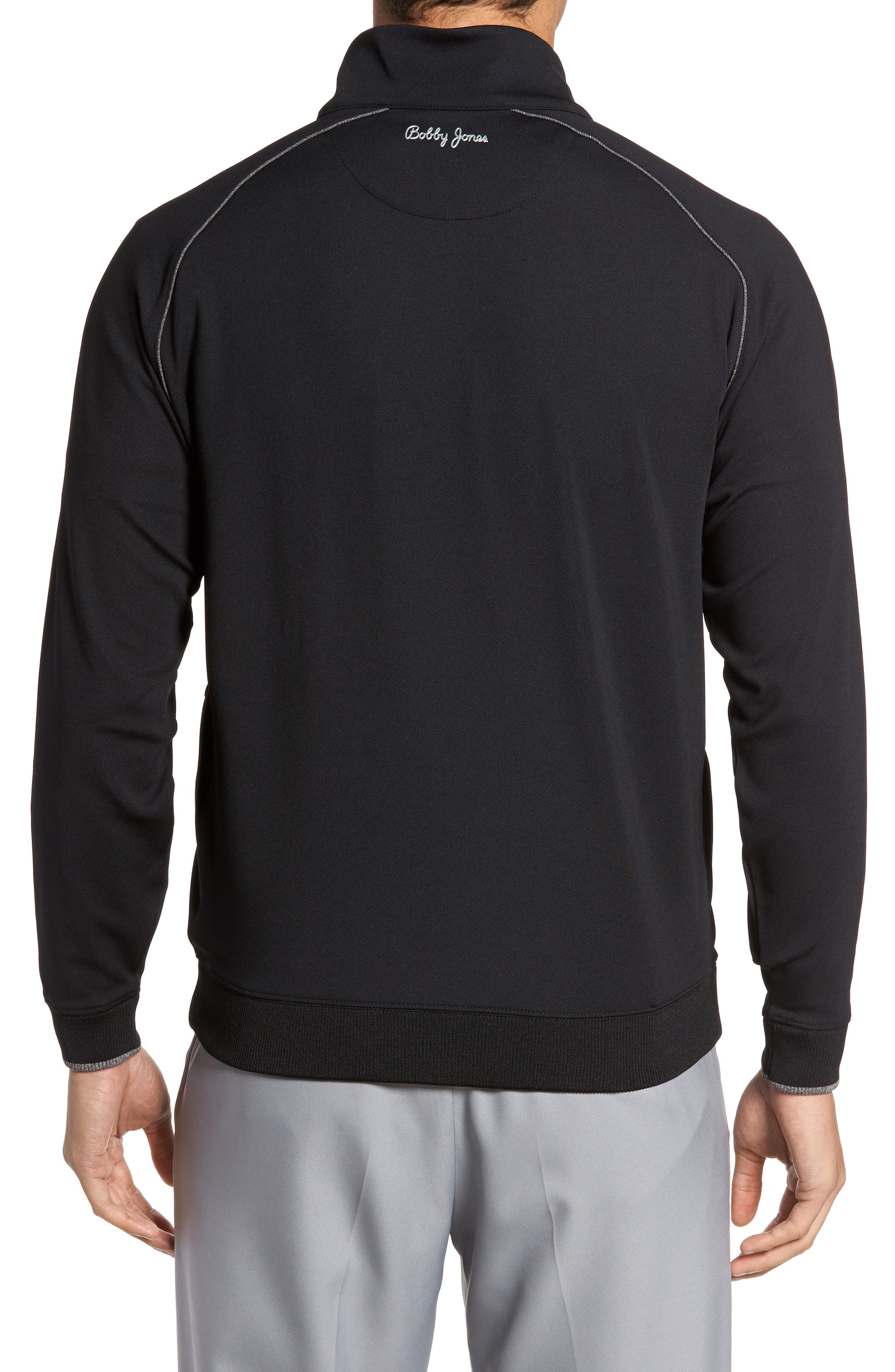 XH20 Banded Bottom Pullover,                             Alternate thumbnail 2, color,                             001