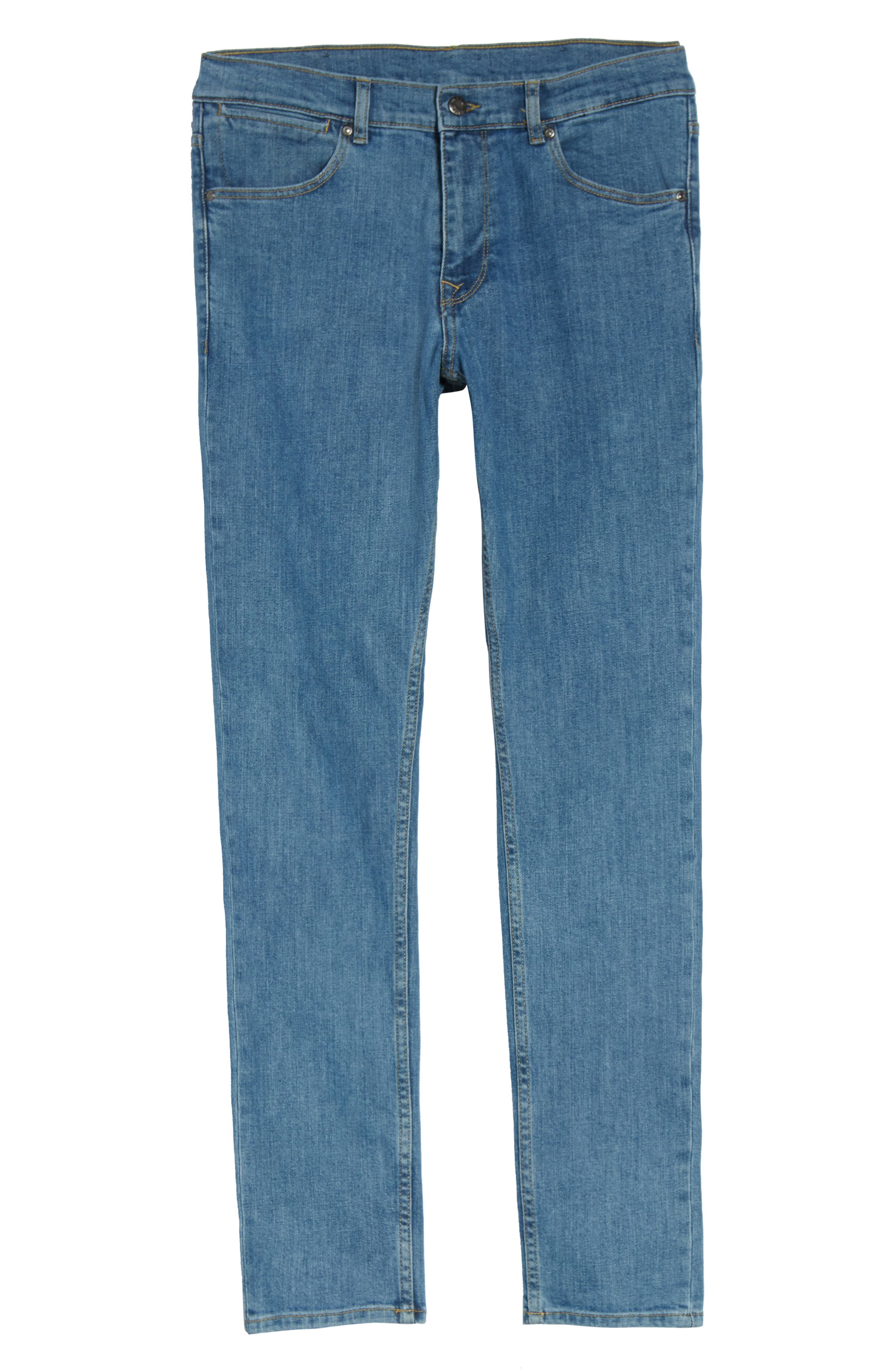 Clark Slim Straight Fit Jeans,                             Alternate thumbnail 6, color,