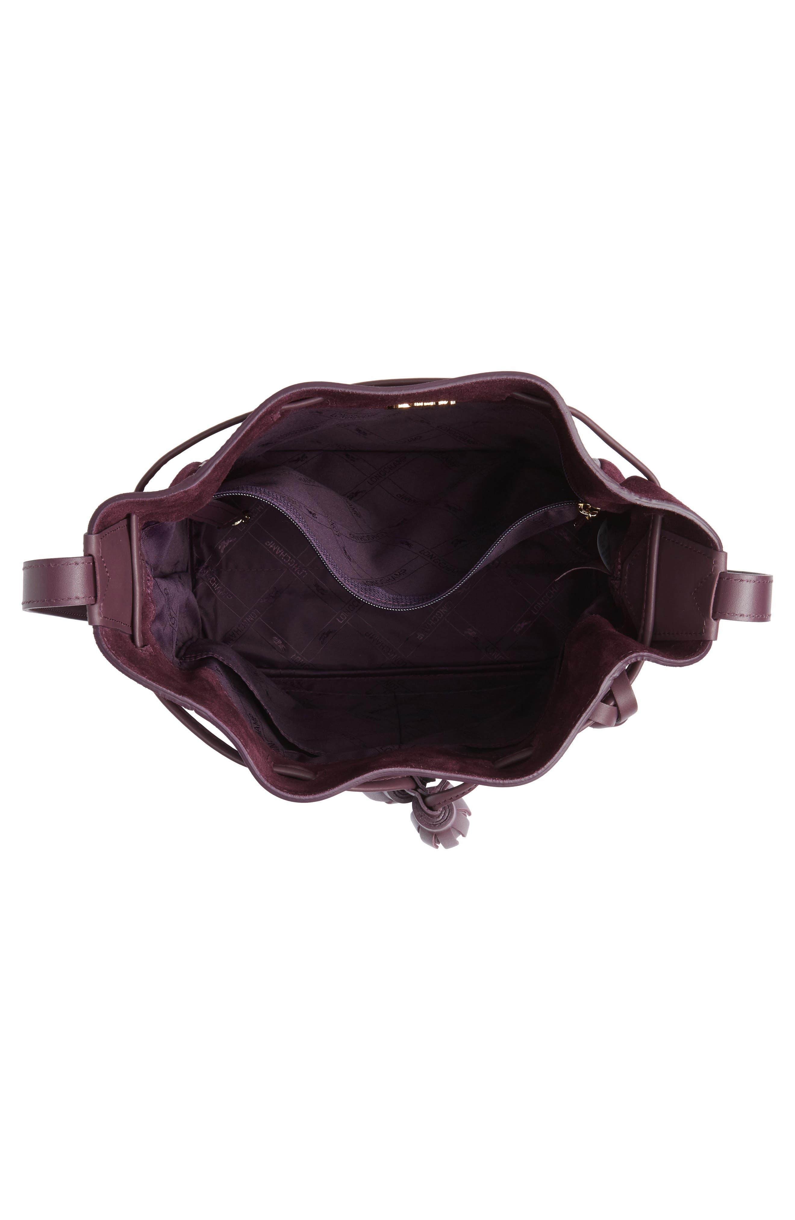 Penelope Fantasie Leather Bucket Bag,                             Alternate thumbnail 10, color,