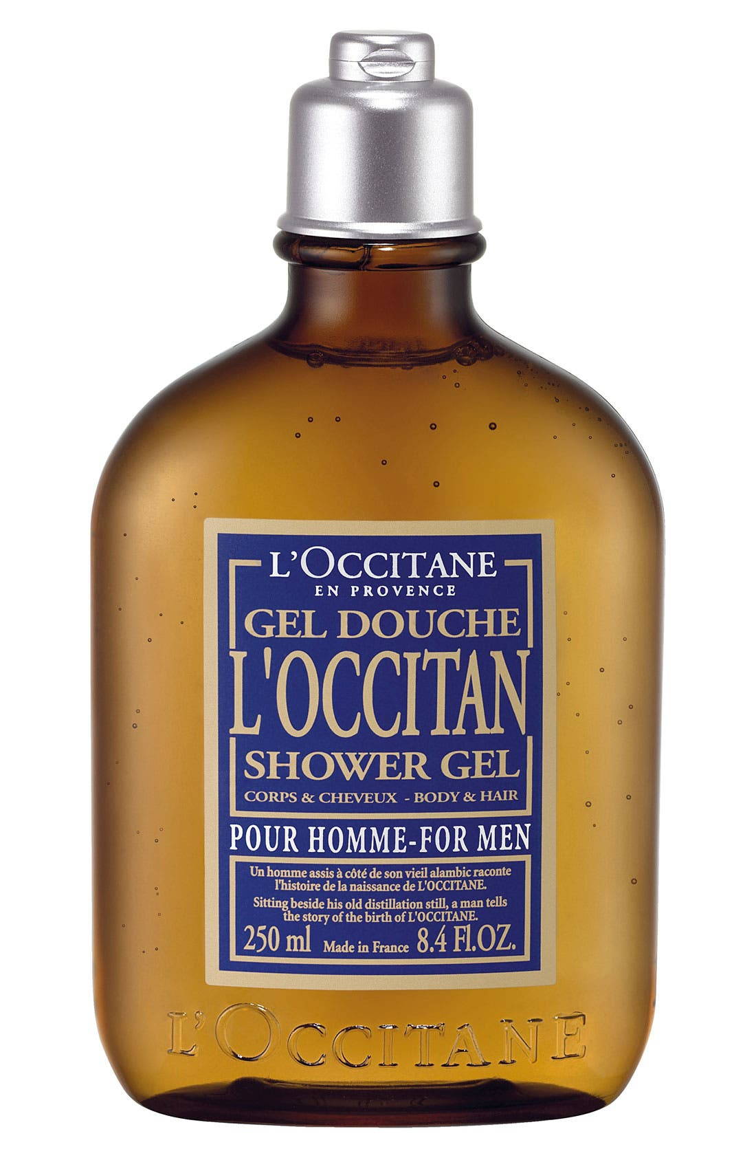 'Pour Homme - L'Occitan' Shower Gel,                             Main thumbnail 1, color,                             000