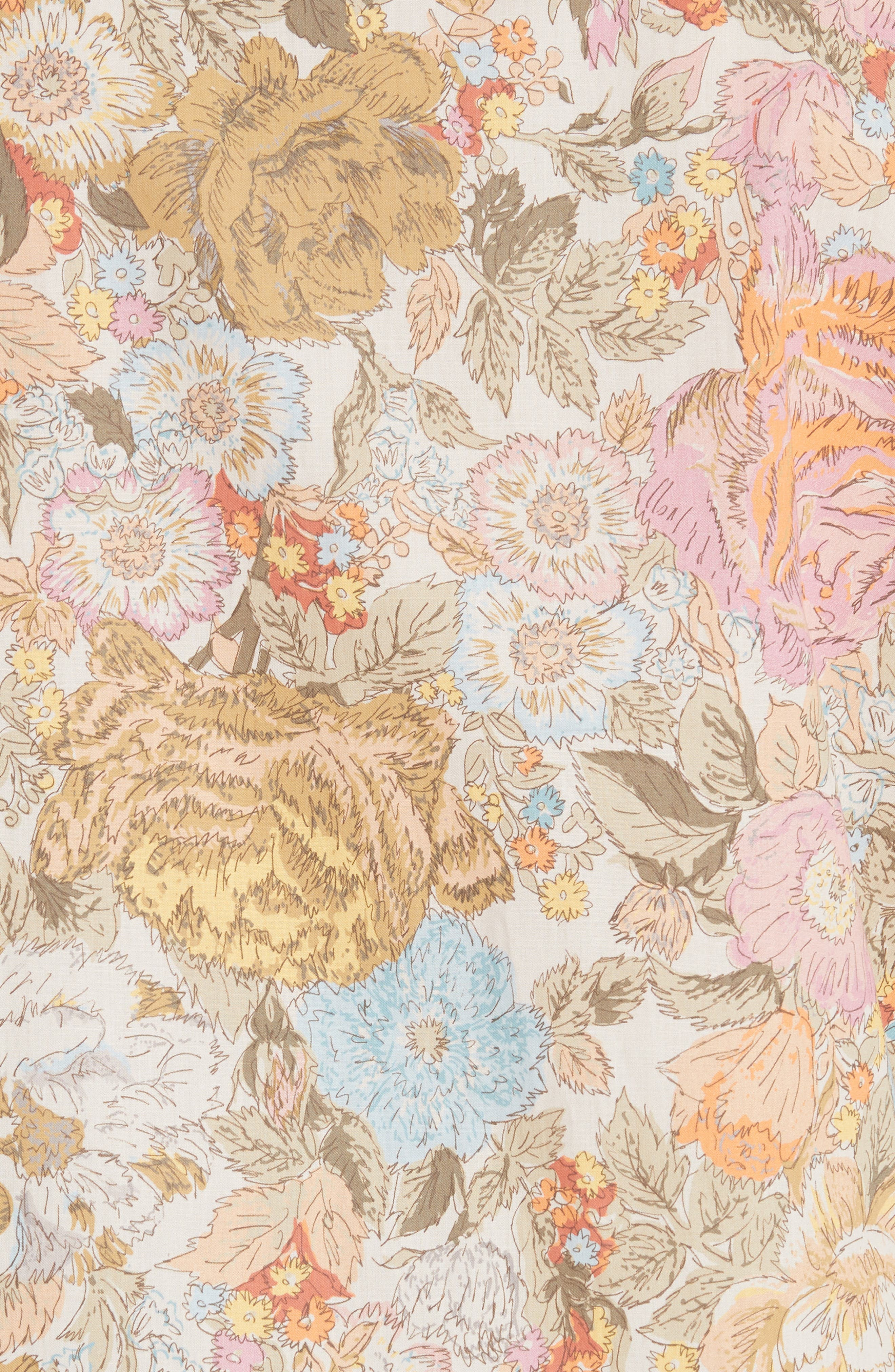 Harley Floral Print Shirt,                             Alternate thumbnail 5, color,