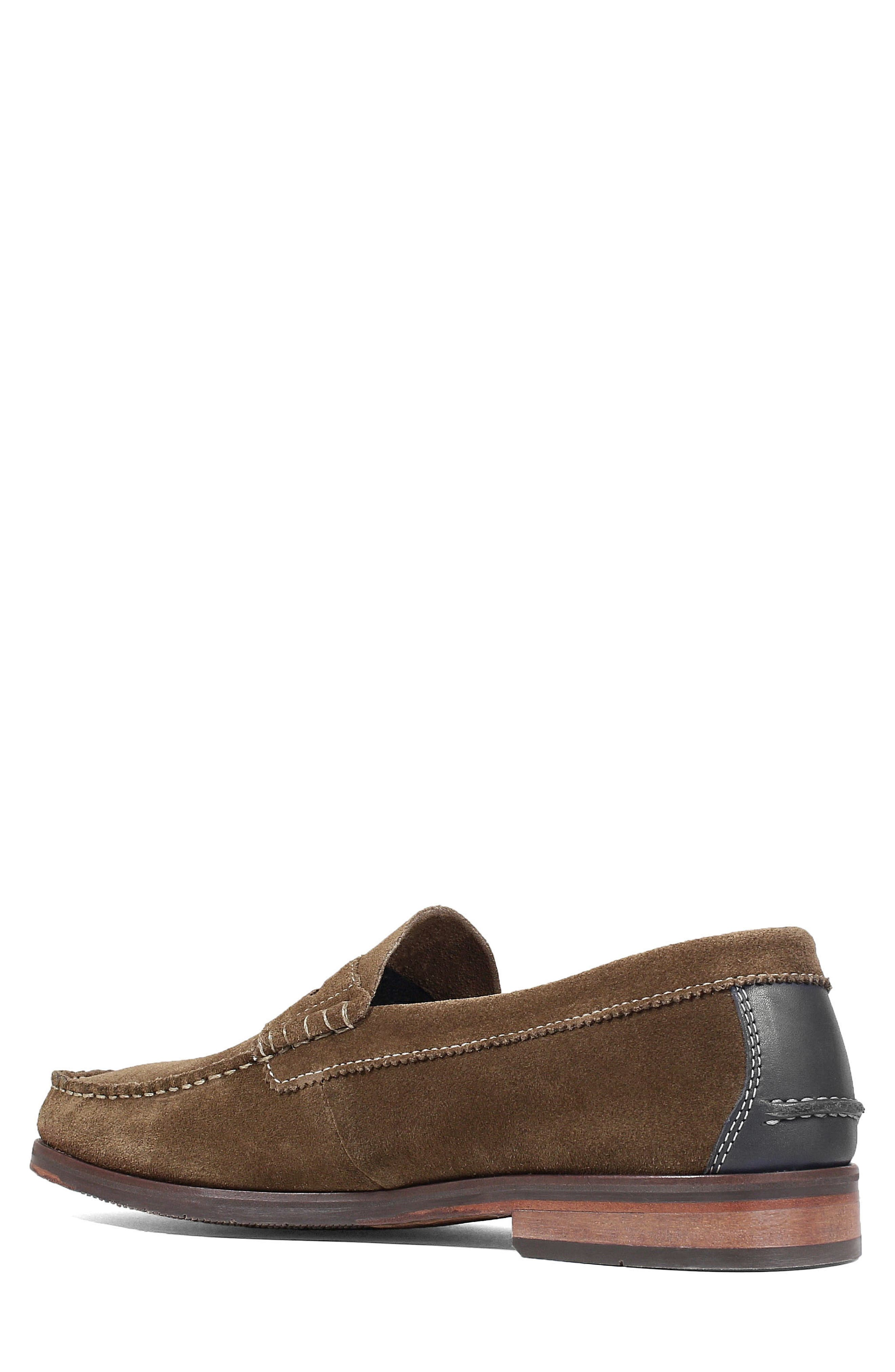 Heads-Up Penny Loafer,                             Alternate thumbnail 2, color,                             SNUFF SUEDE