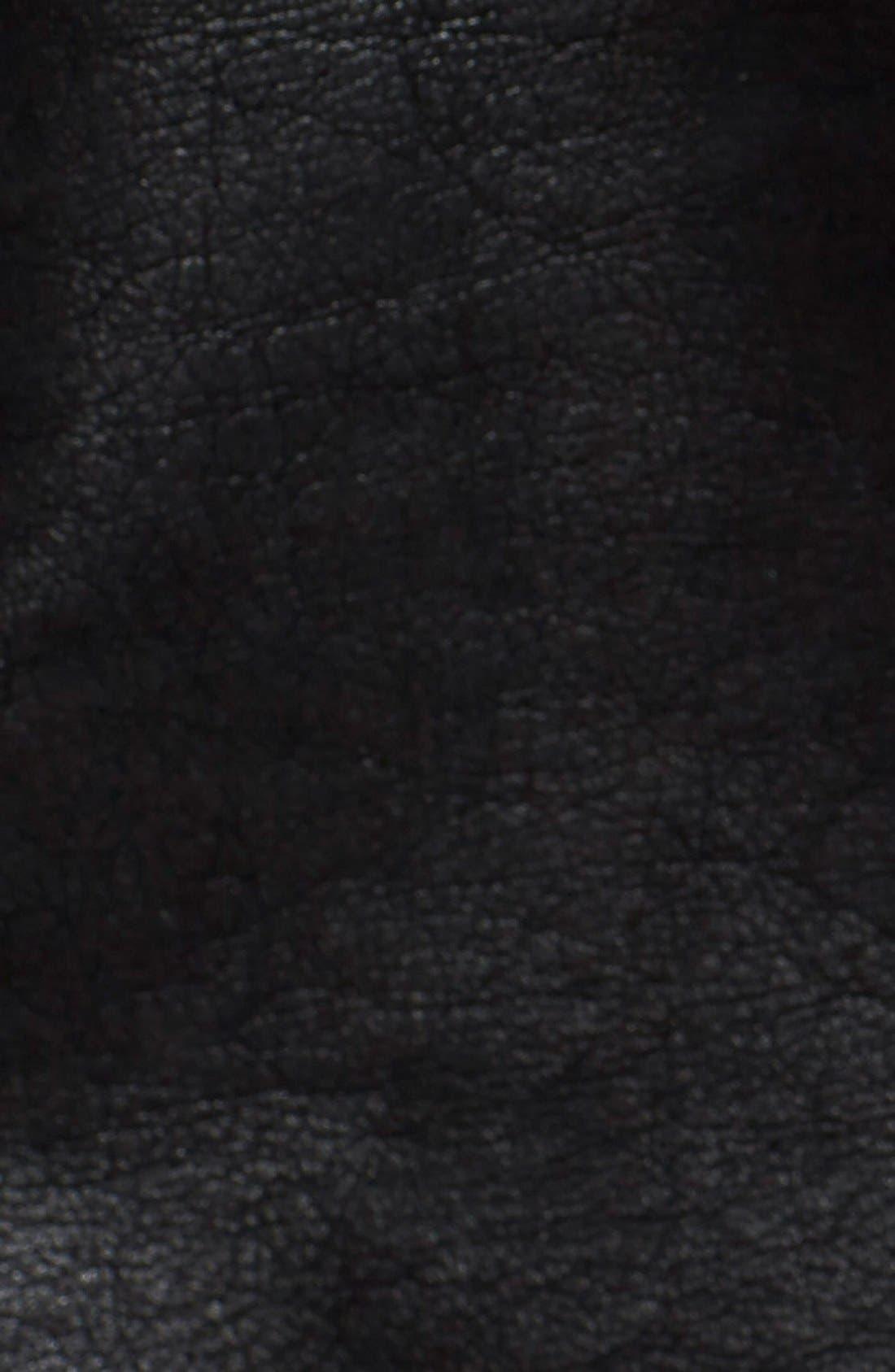 Faux Leather Jacket,                             Alternate thumbnail 20, color,