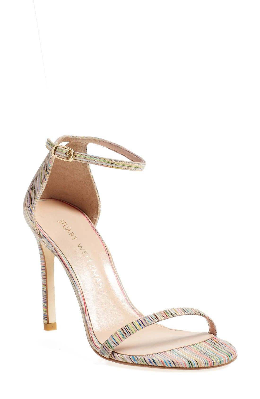 Nudistsong Ankle Strap Sandal,                             Main thumbnail 21, color,