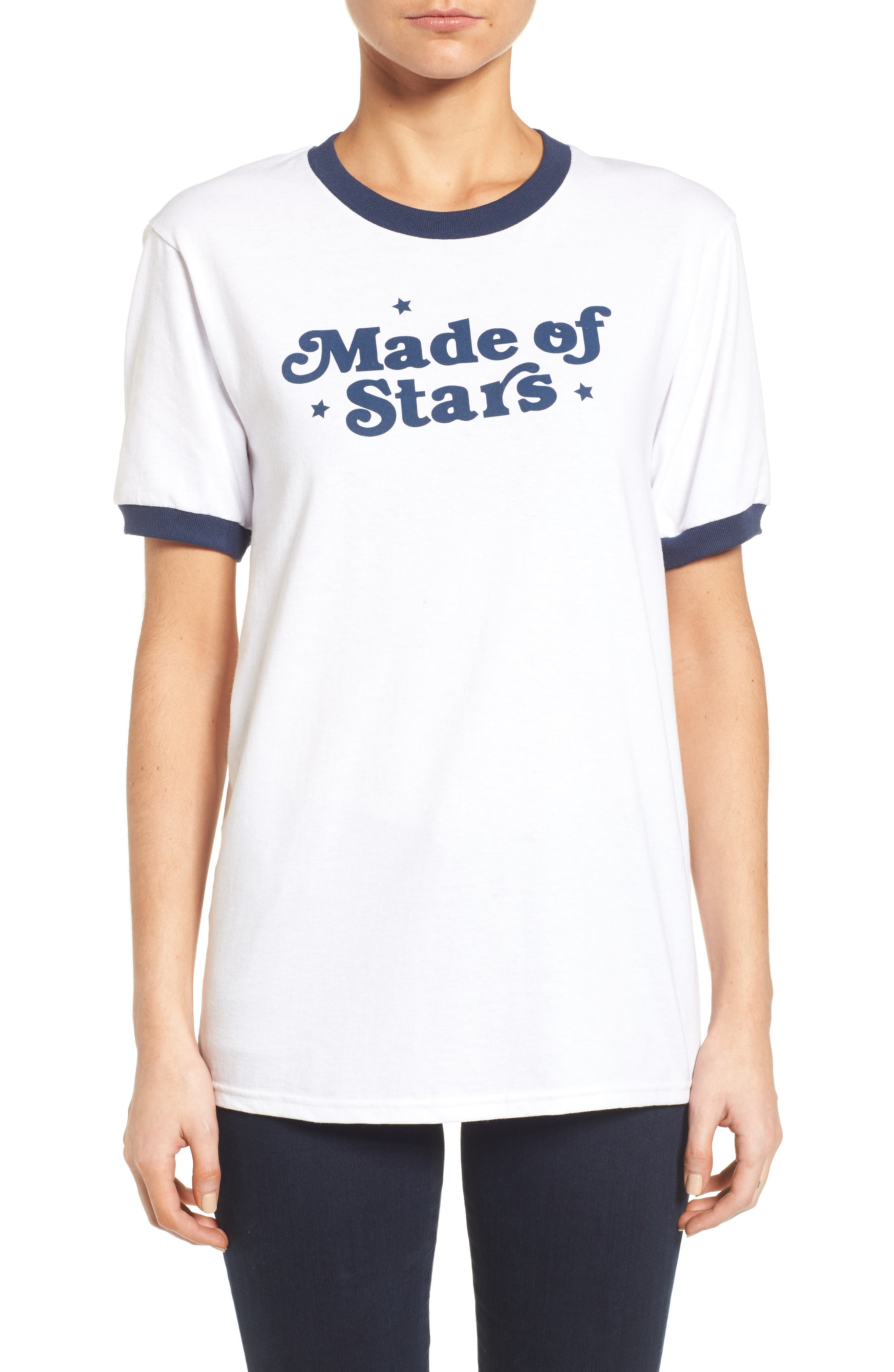 Made of Stars Tee,                             Main thumbnail 1, color,                             100