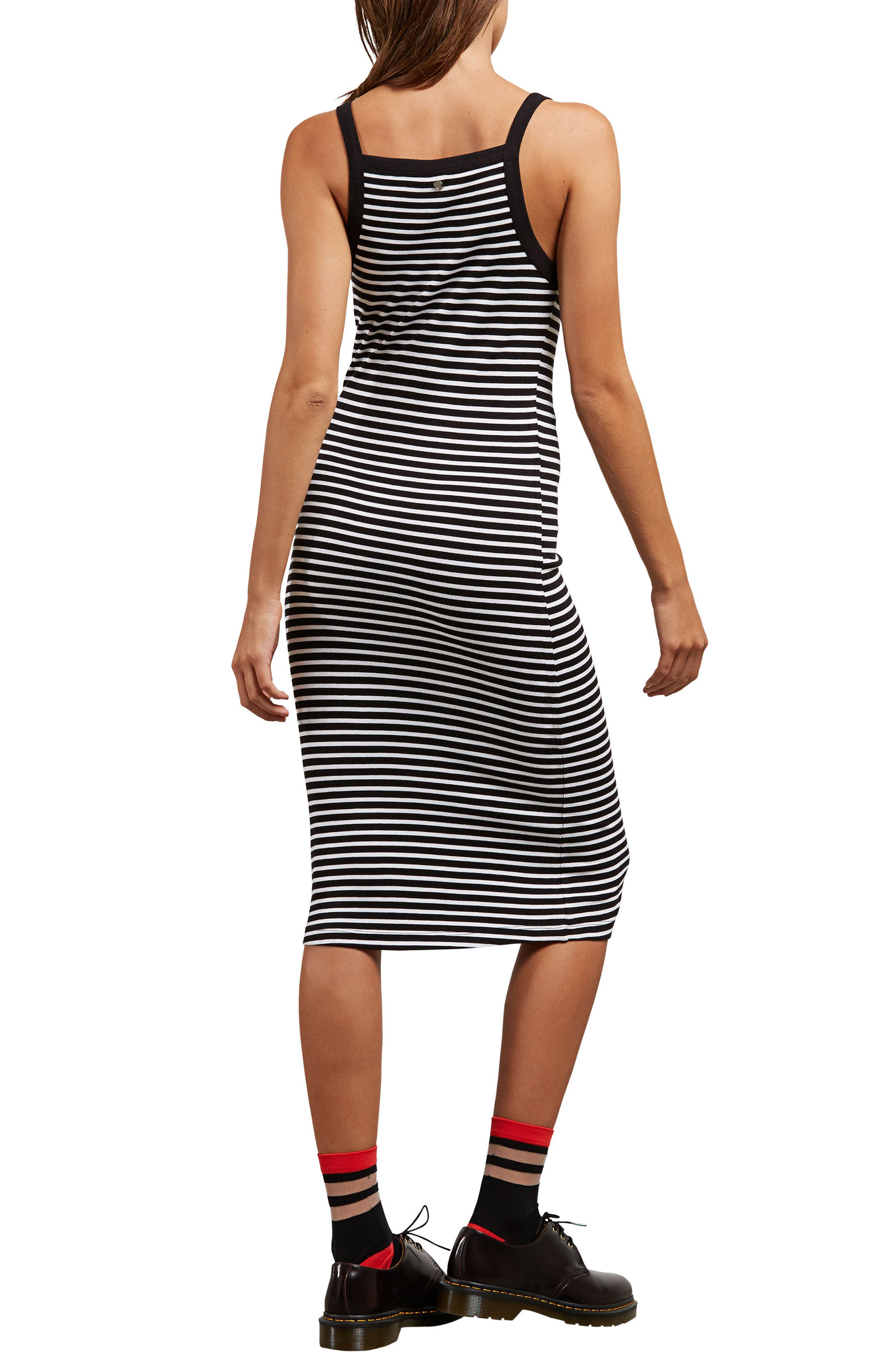 Rave New World Stripe Dress,                             Alternate thumbnail 2, color,