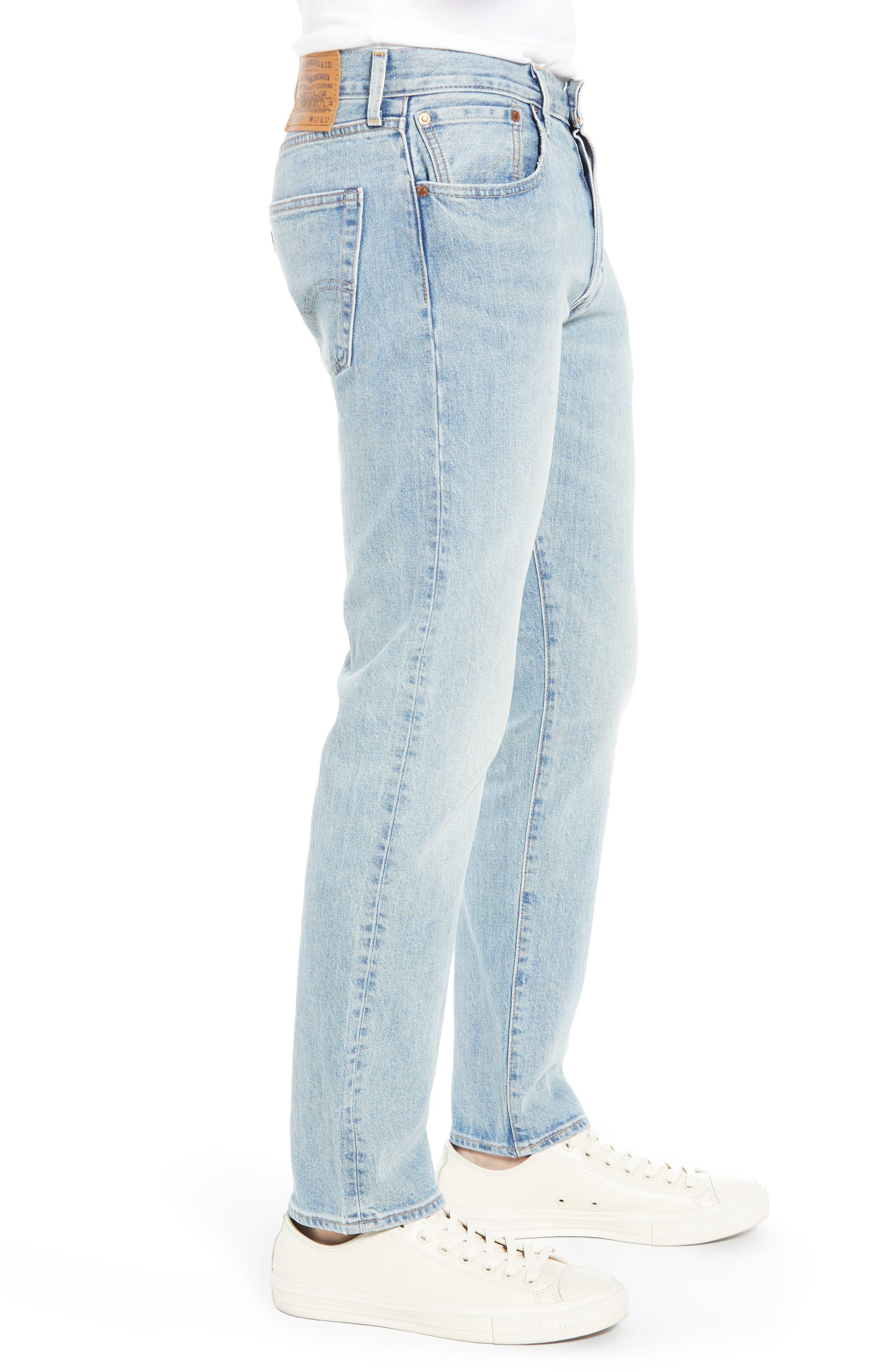 x Justin Timberlake 501<sup>®</sup> Slim Taper Jeans,                             Alternate thumbnail 4, color,                             HILLMAN