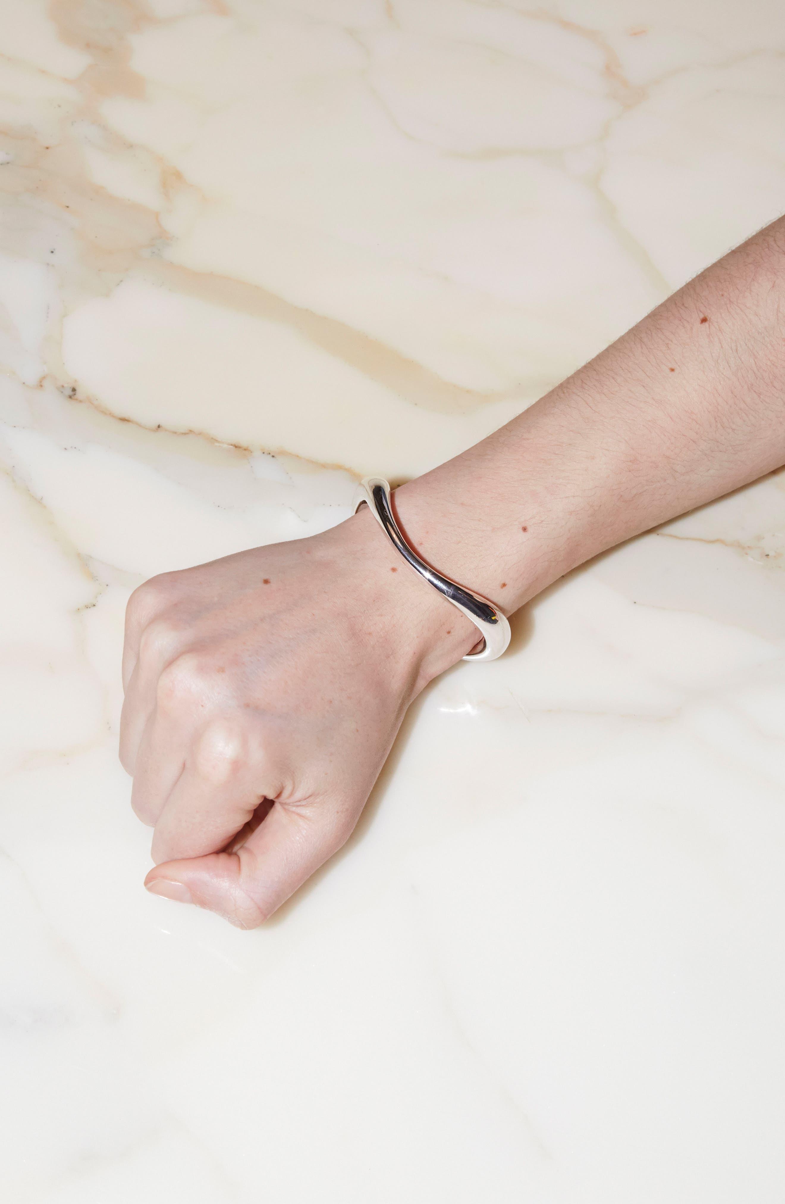 Turtle Bracelet,                             Alternate thumbnail 2, color,                             SILVER