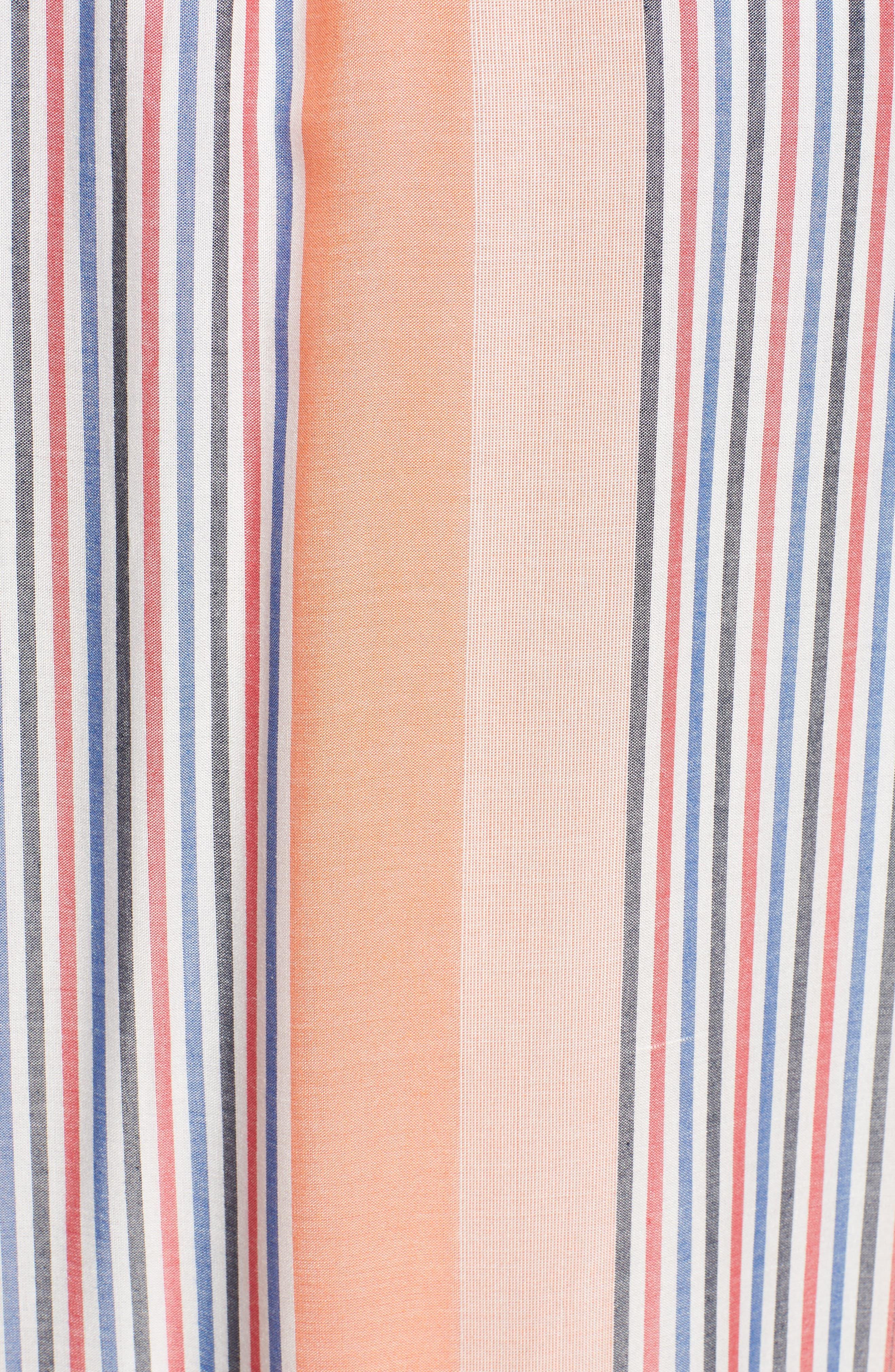 Tie Waist Cotton Maxi Dress,                             Alternate thumbnail 21, color,