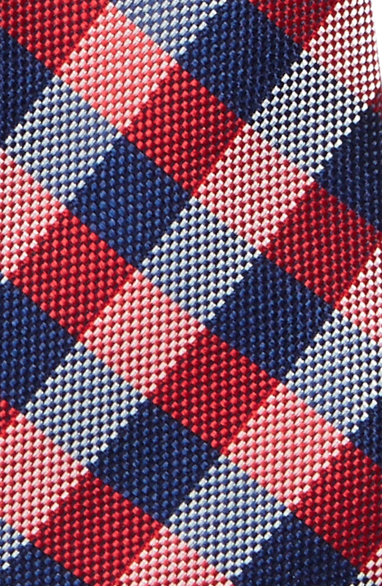 Check Silk Tie,                             Alternate thumbnail 19, color,
