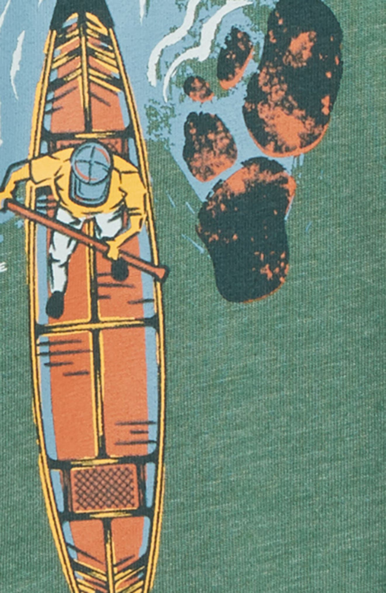 Bird's Eye Canoe T-Shirt,                             Alternate thumbnail 2, color,                             300