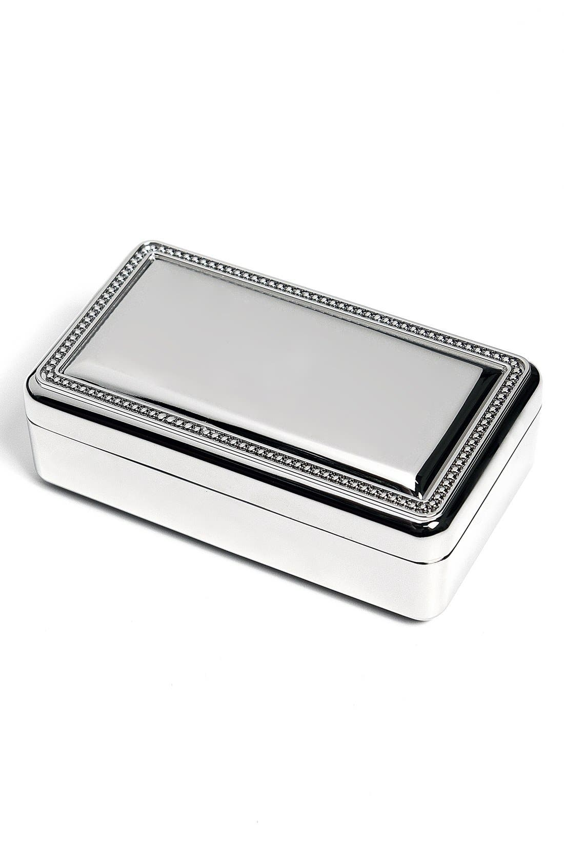 Cathys Concepts Monogram Jewelry Box,                         Main,                         color, 040