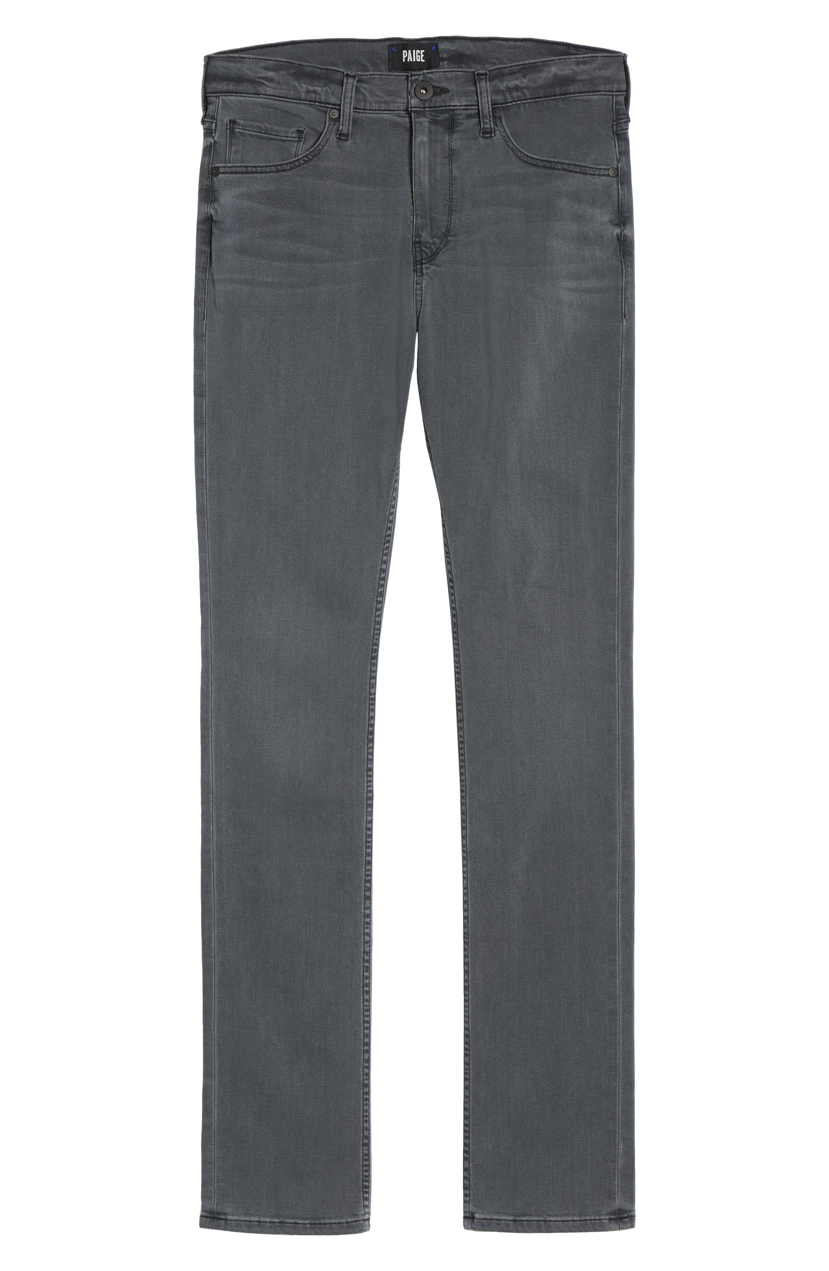 Federal Slim Straight Leg Jeans,                             Alternate thumbnail 6, color,                             020