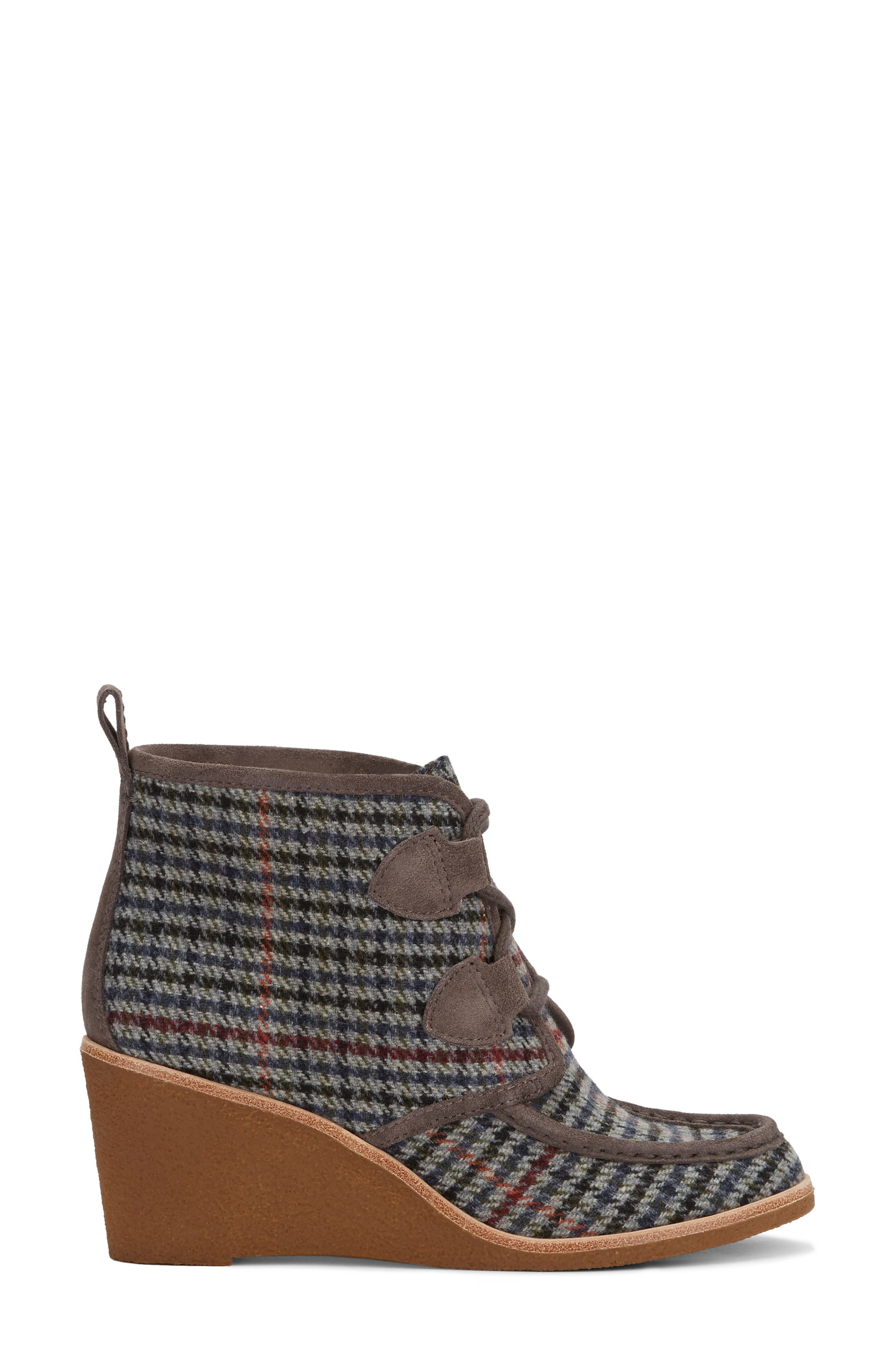 Rosa Wedge Bootie,                             Alternate thumbnail 7, color,