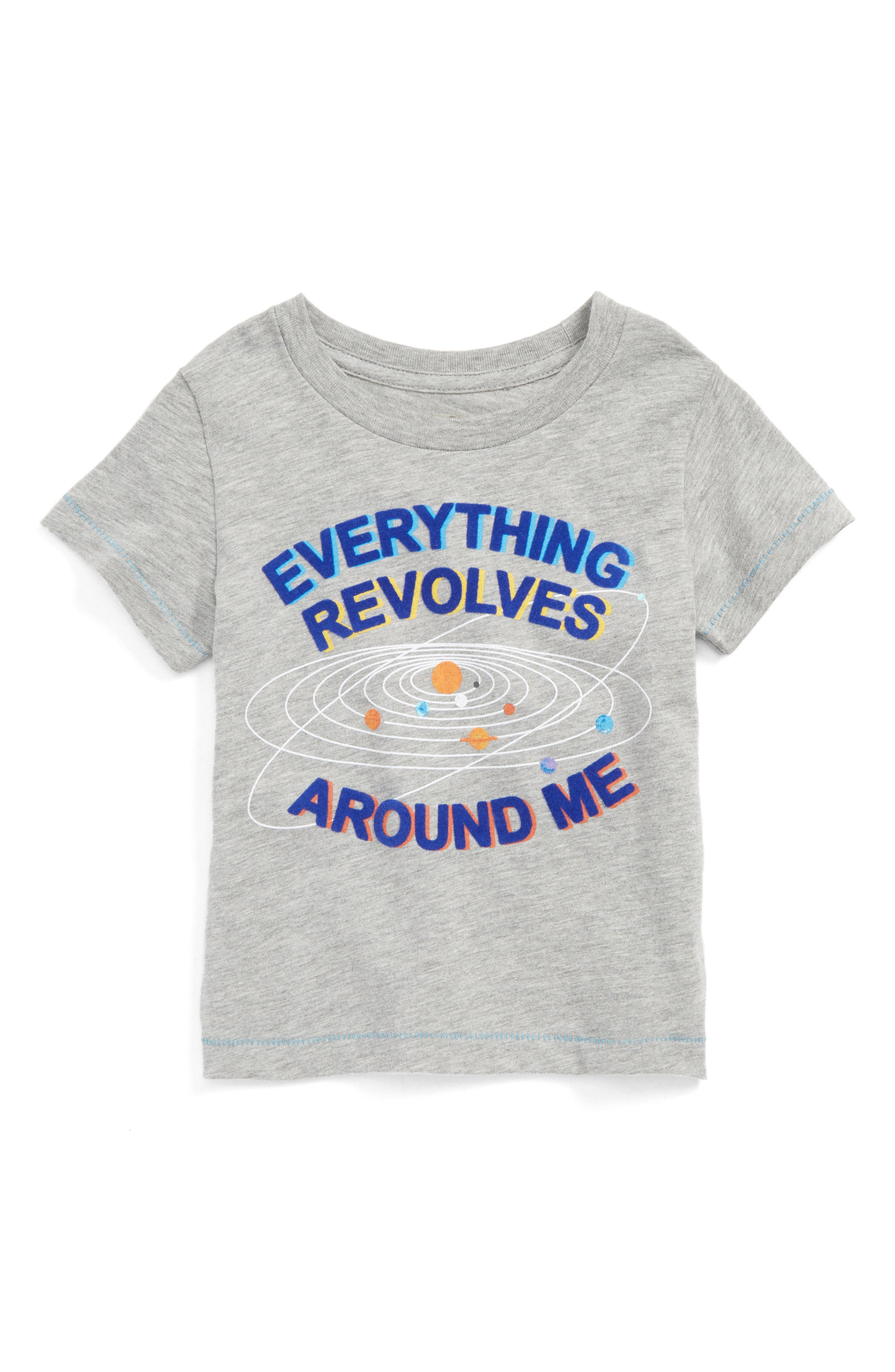 Everything Revolves Around Me T-Shirt,                             Main thumbnail 1, color,                             054