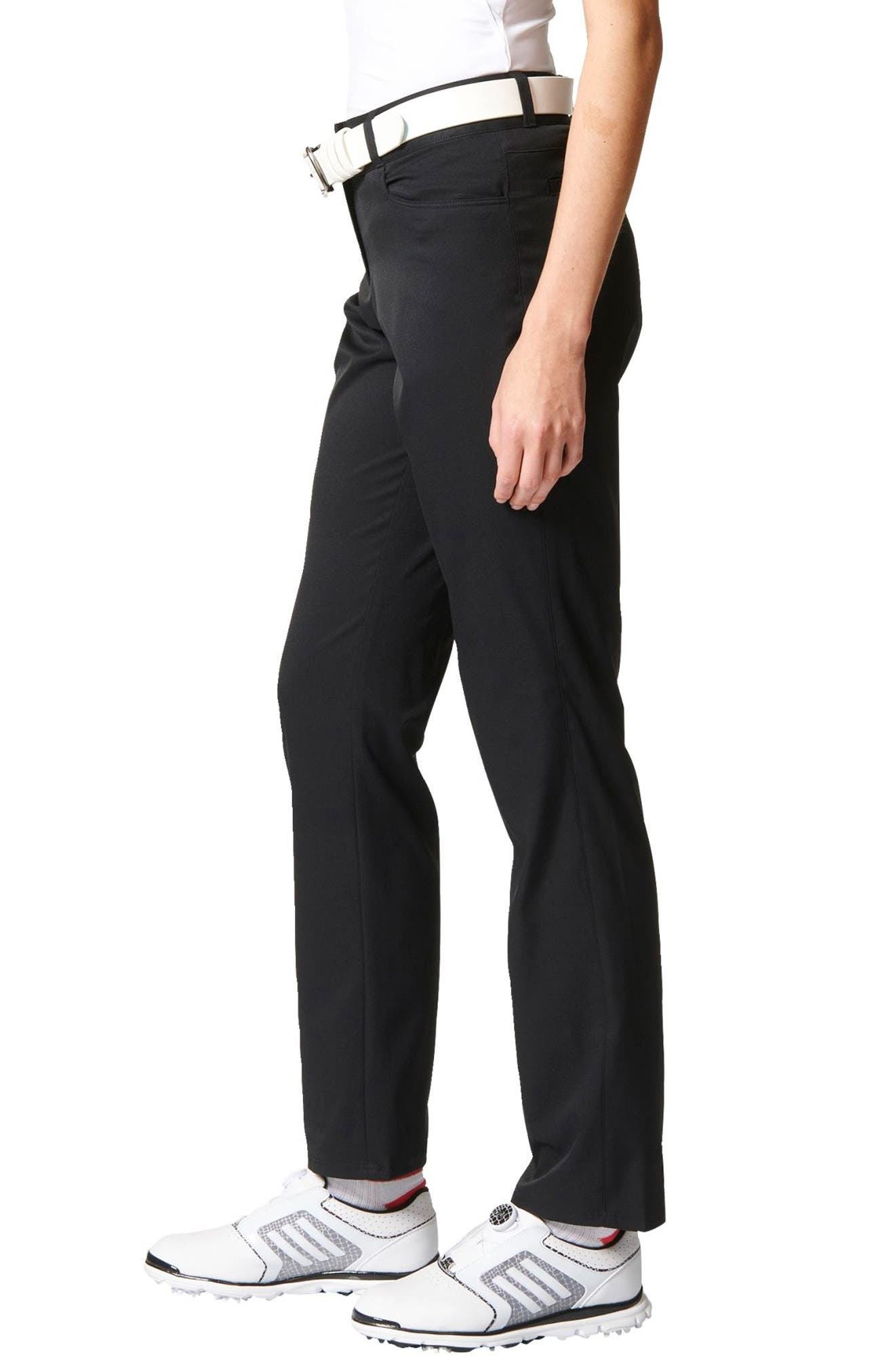 Full Length Golf Pants,                             Alternate thumbnail 3, color,                             001