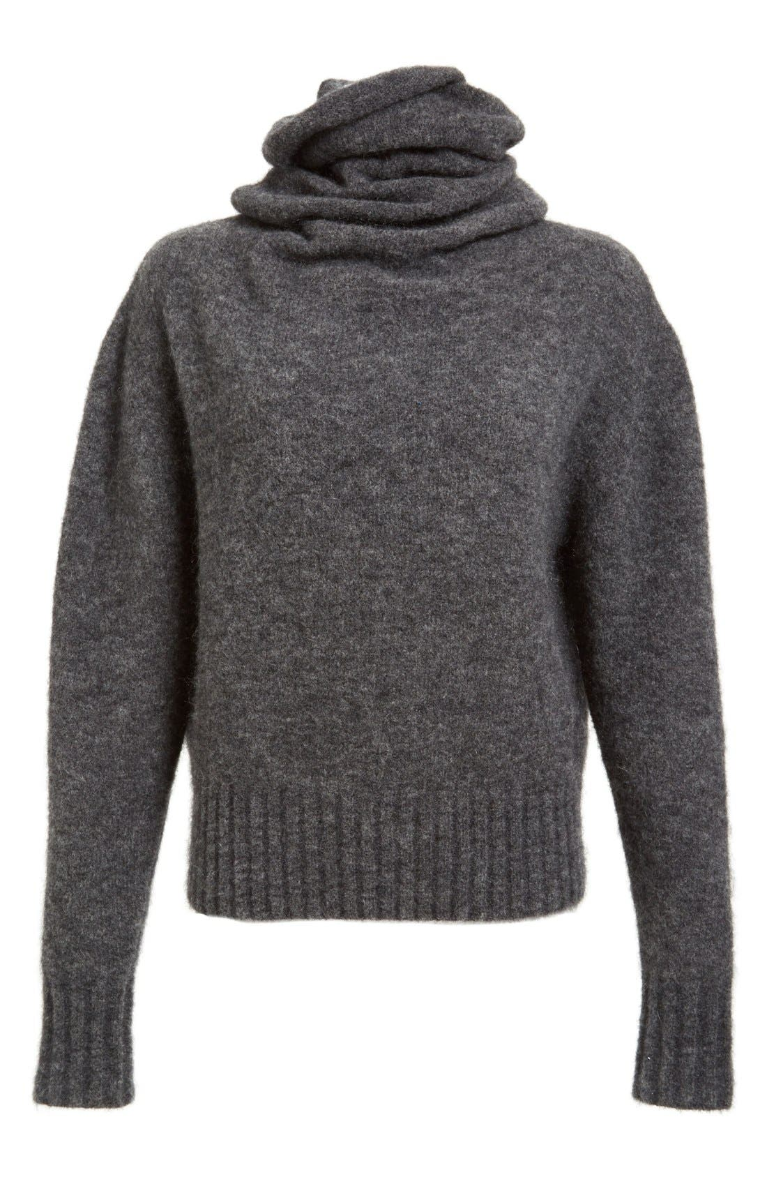 'Voletta Mohair' Turtleneck Sweater,                             Alternate thumbnail 2, color,                             021