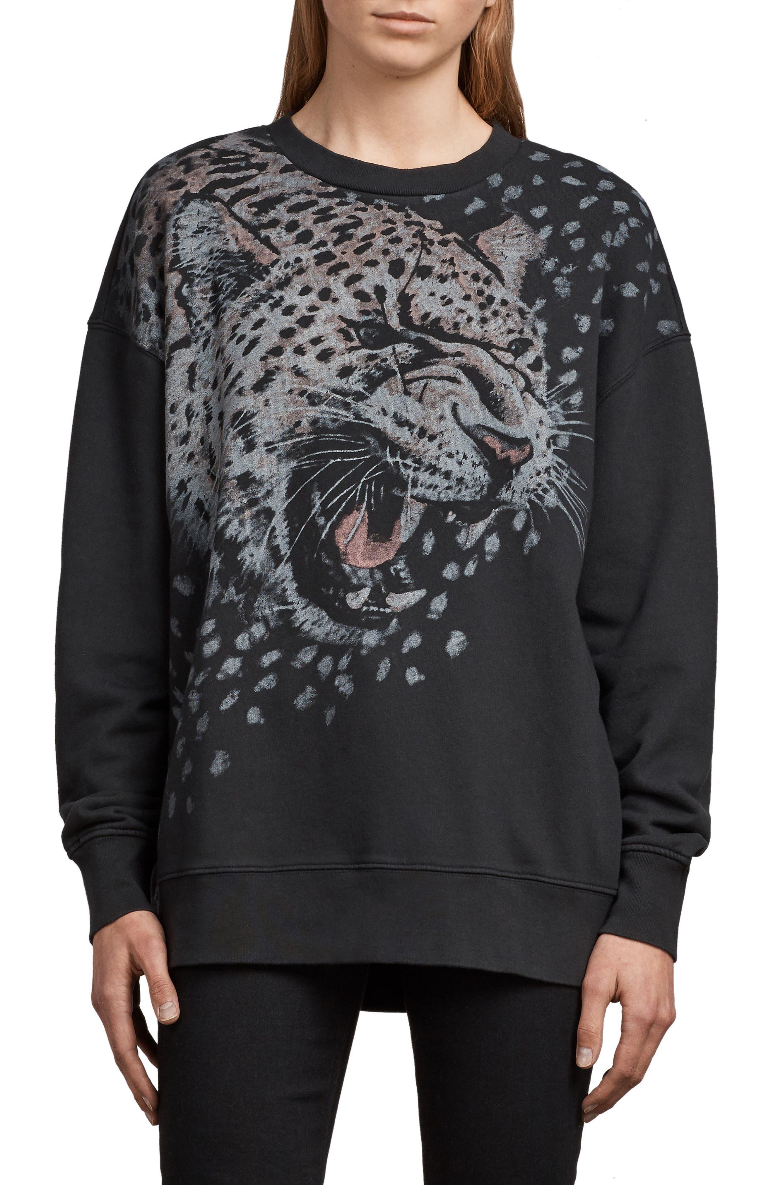 Sabre Joy Sweatshirt,                         Main,                         color, 001