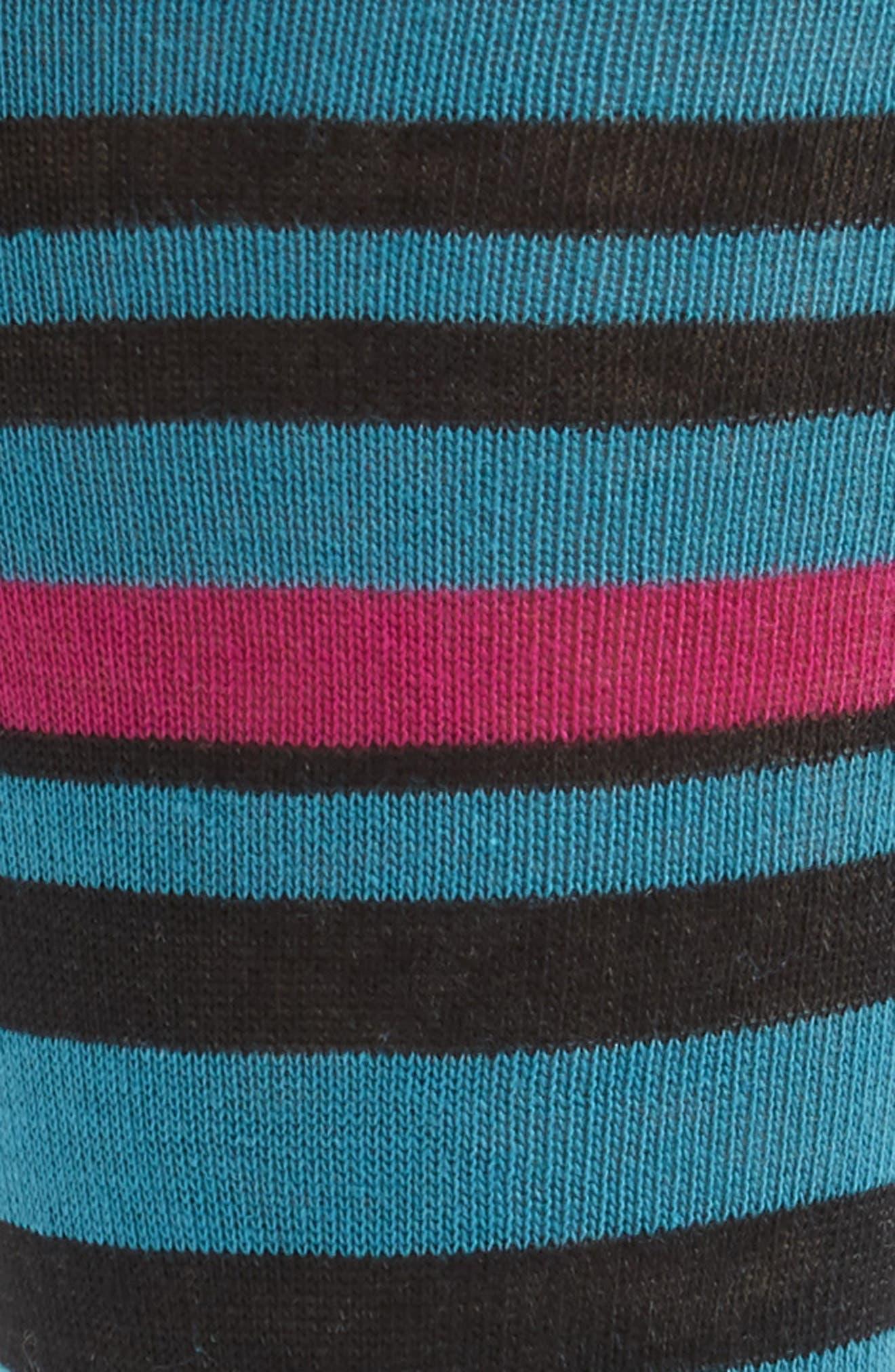 Stripe Socks,                             Alternate thumbnail 2, color,                             001