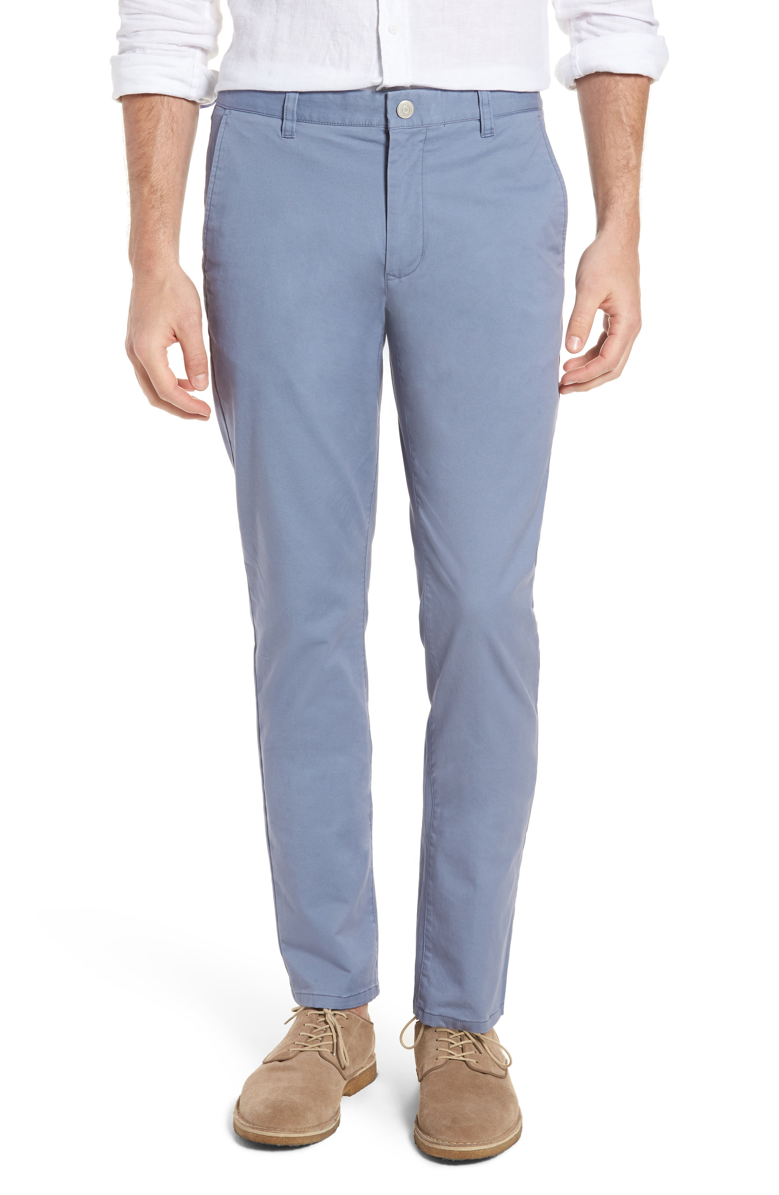 Tailored Fit Washed Stretch Cotton Chinos,                             Main thumbnail 18, color,