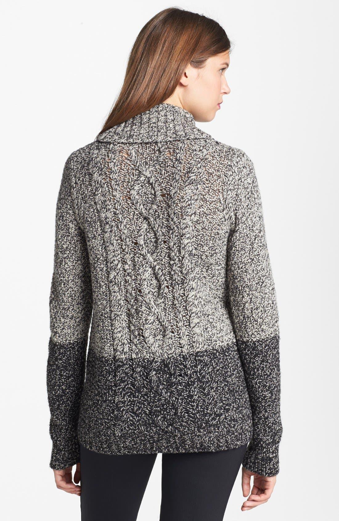 Colorblock Turtleneck Sweater,                             Alternate thumbnail 2, color,                             020