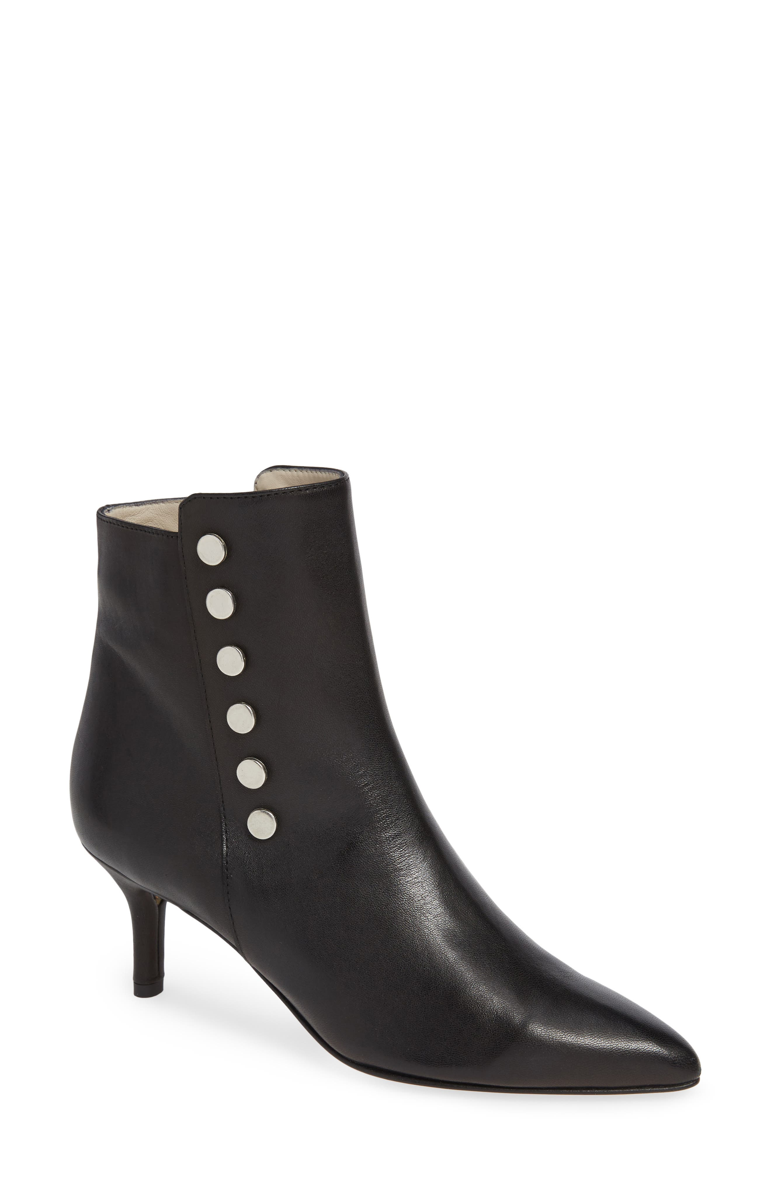 Piccola Bootie in Black Leather