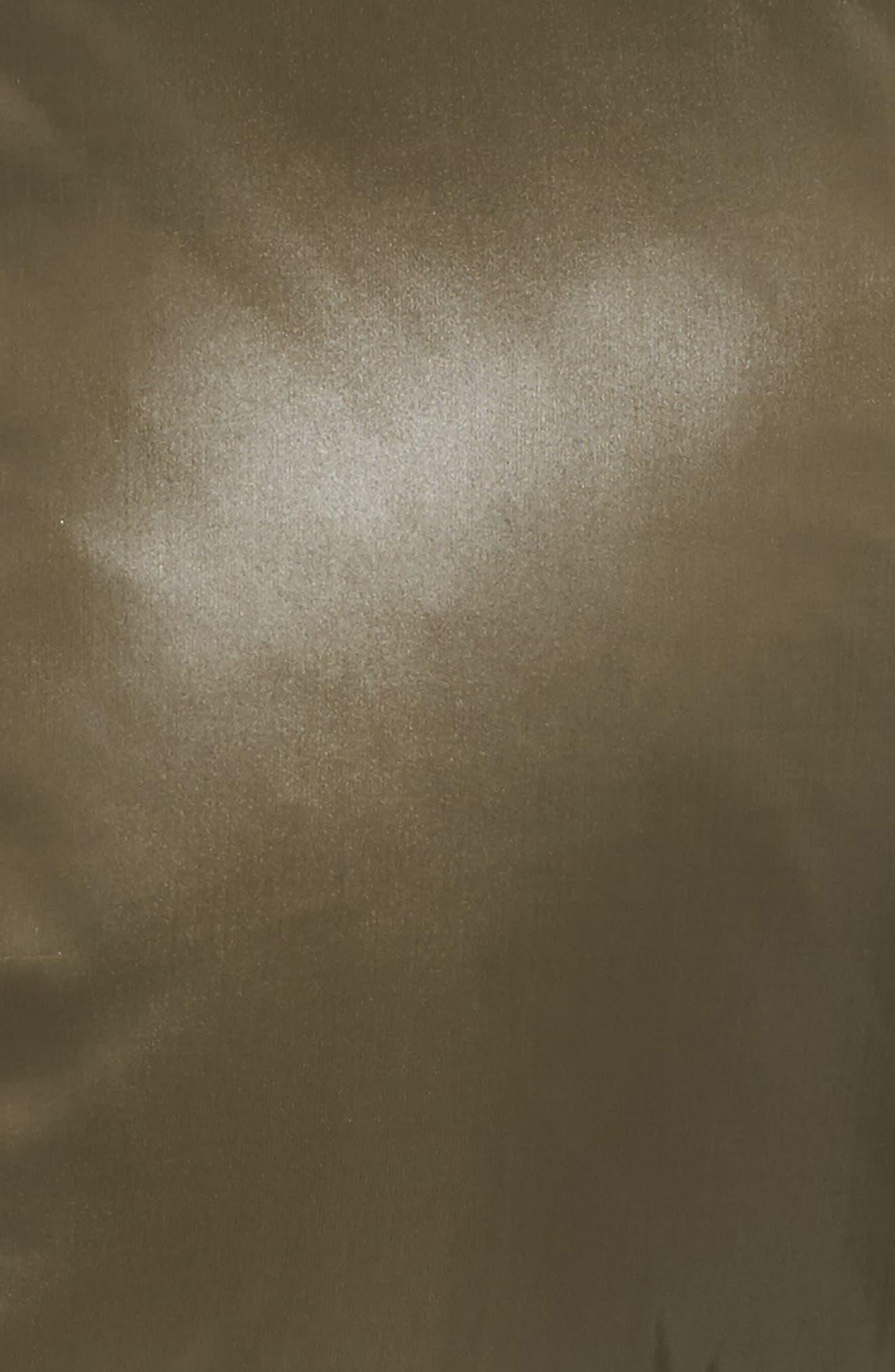 Kylie Faux Fur Trim Gloss Puffer Jacket,                             Alternate thumbnail 25, color,