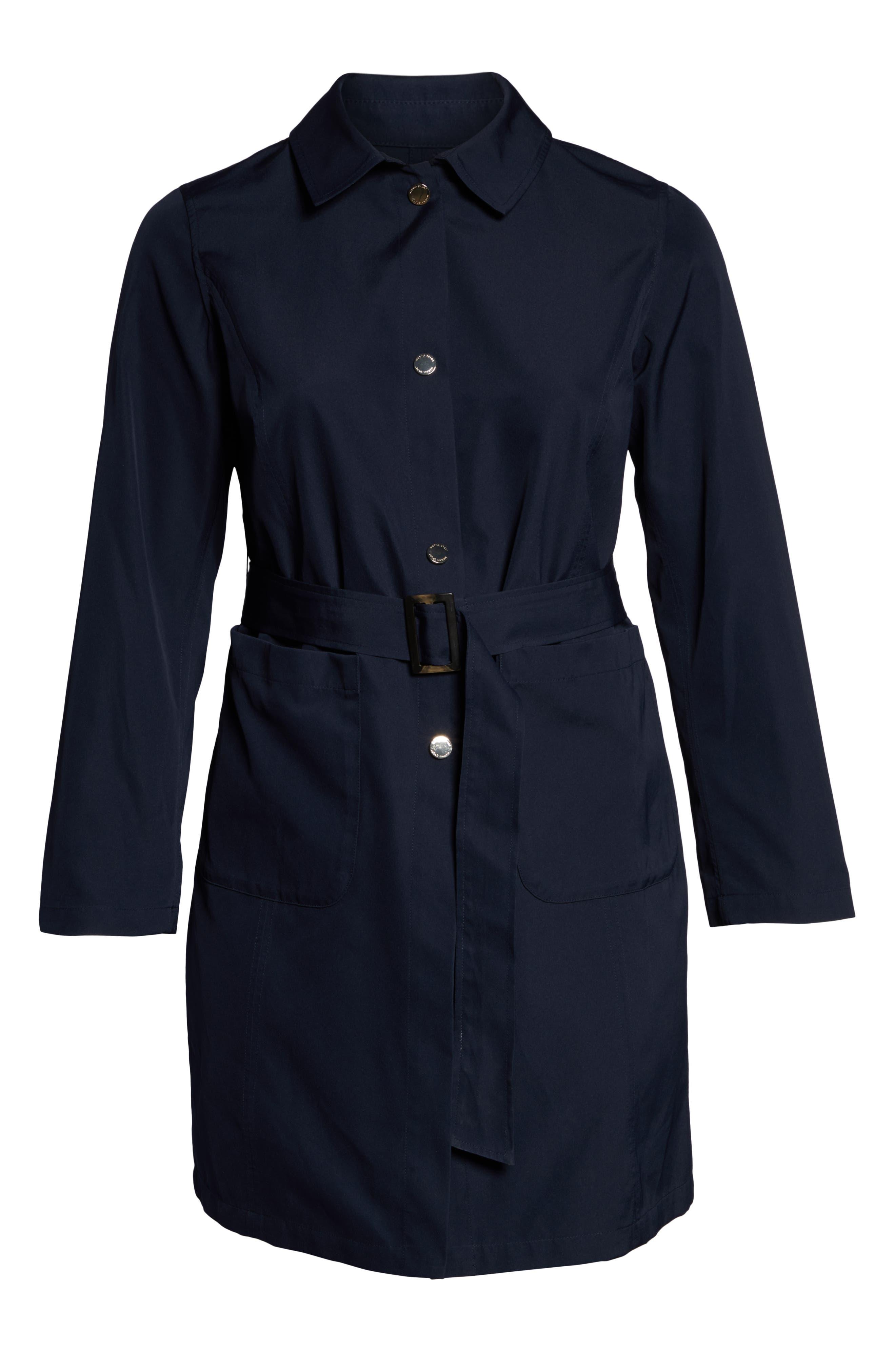 Tabella Reversible Raincoat,                             Alternate thumbnail 6, color,                             NAVY BLUE
