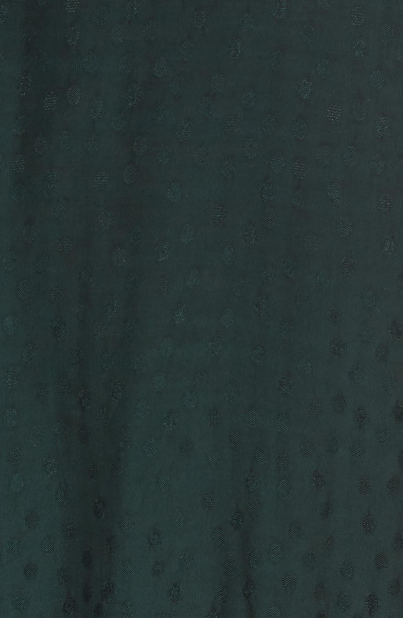 Midi Wrap Dress,                             Alternate thumbnail 5, color,                             301