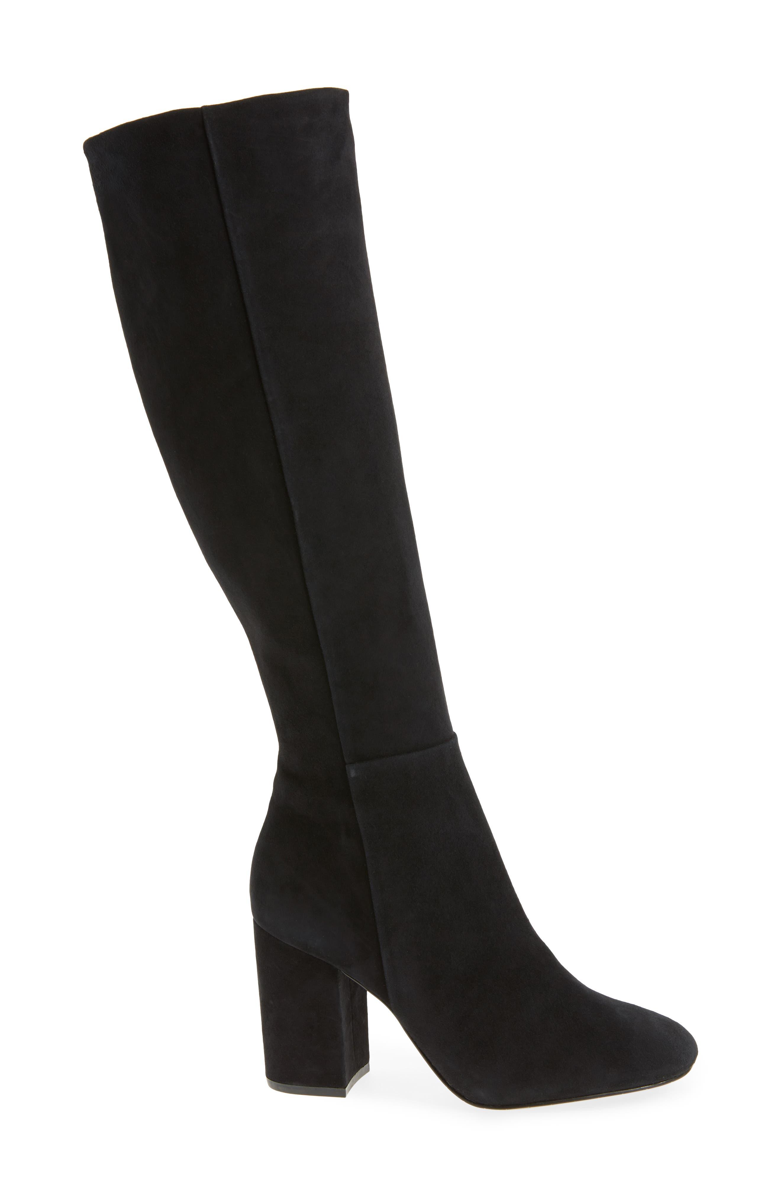Clarissa Knee High Boot,                             Alternate thumbnail 3, color,                             001
