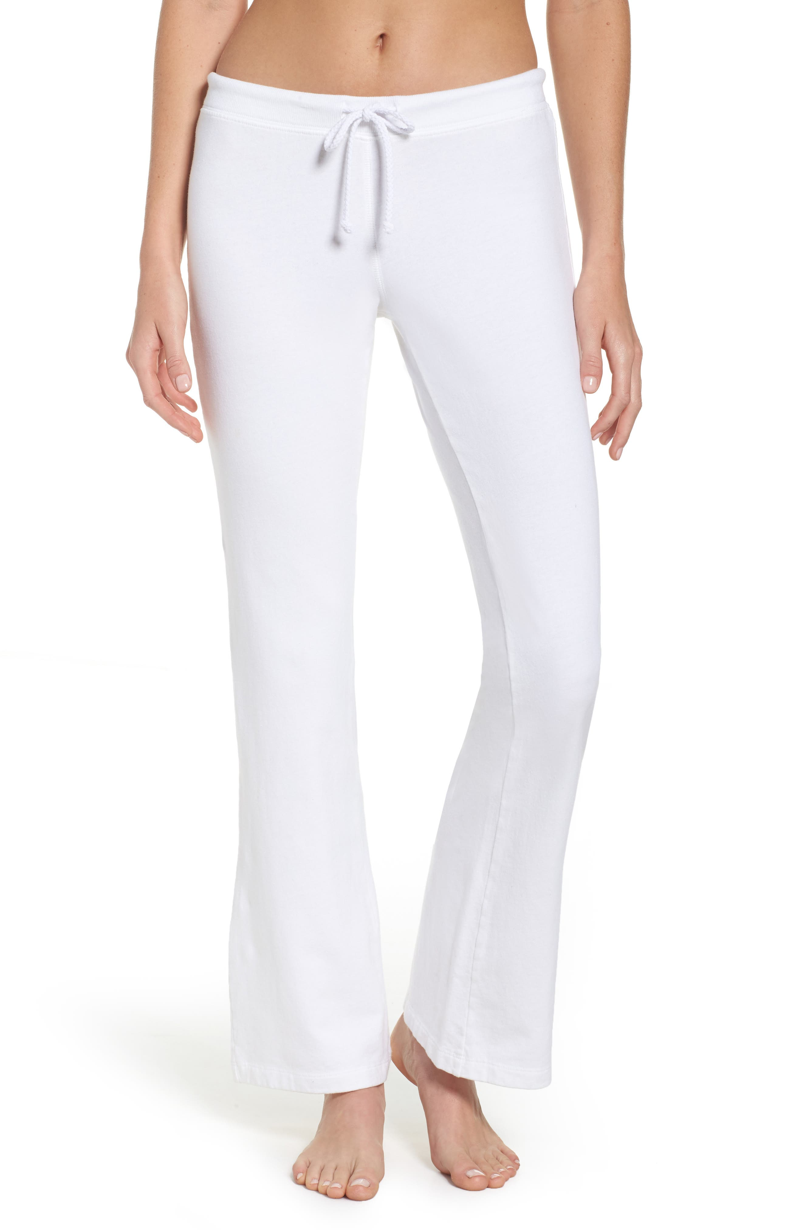 Fuzzy Flare Lounge Pants,                         Main,                         color, 100