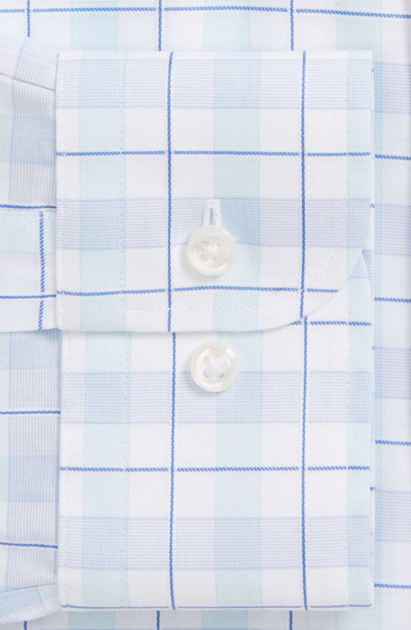 Smartcare<sup>™</sup> Traditional Fit Plaid Dress Shirt,                             Alternate thumbnail 2, color,                             450