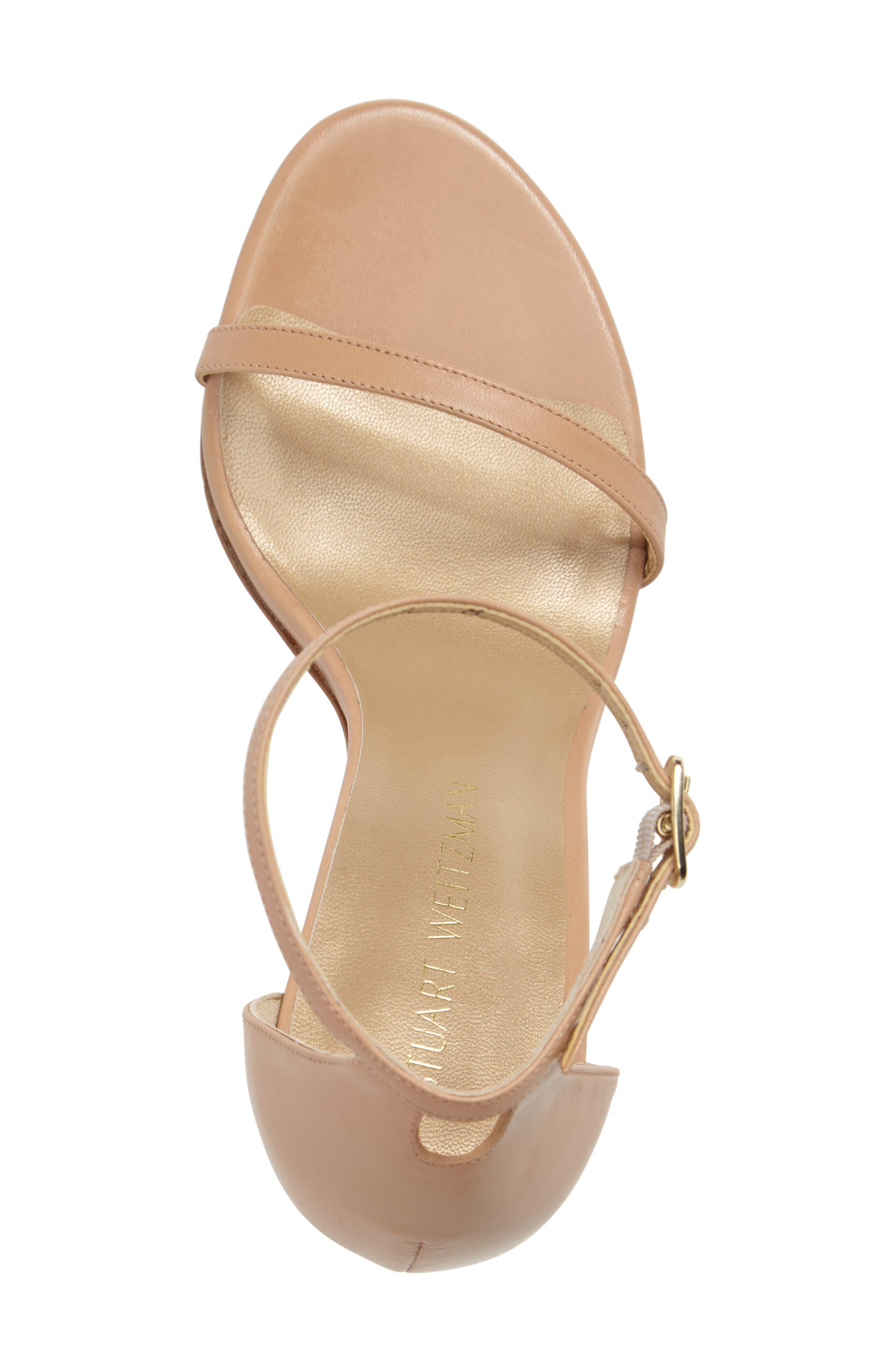 Nudistsong Ankle Strap Sandal,                             Alternate thumbnail 112, color,