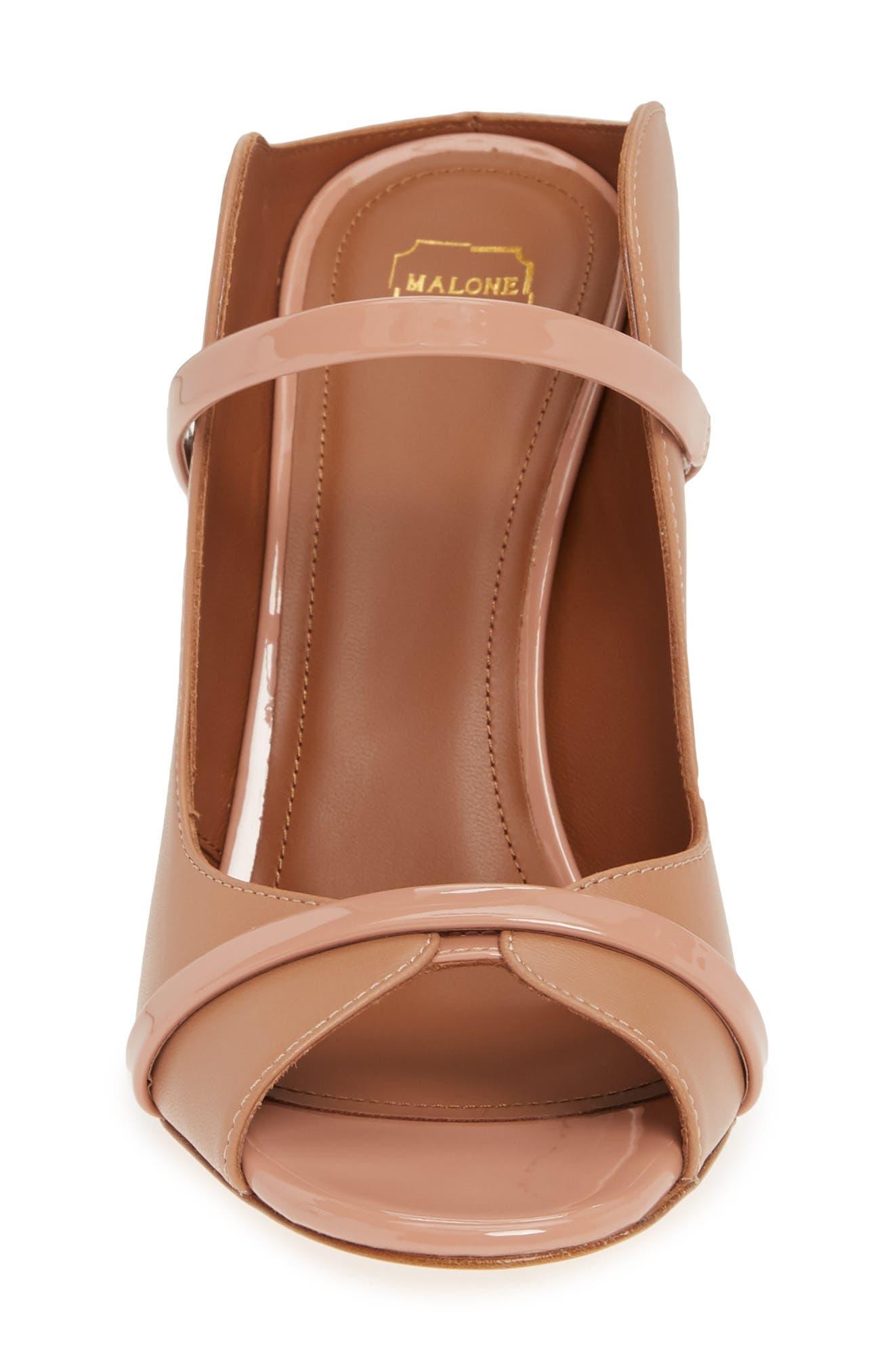 MALONE SOULIERS,                             Norah Block Heel Sandal,                             Alternate thumbnail 4, color,                             NUDE/ BLUSH