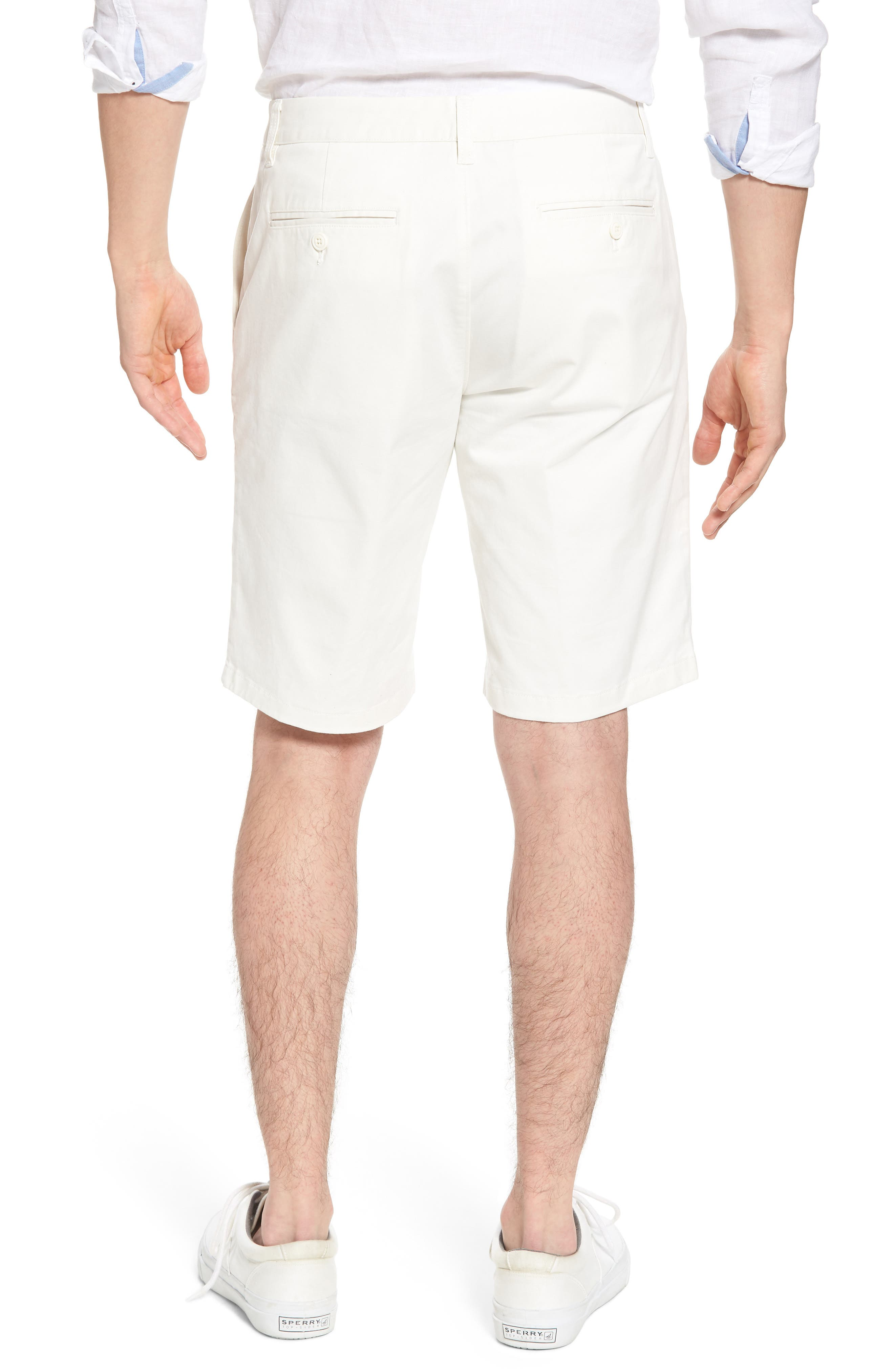 Stretch Washed Chino 11-Inch Shorts,                             Alternate thumbnail 2, color,                             100