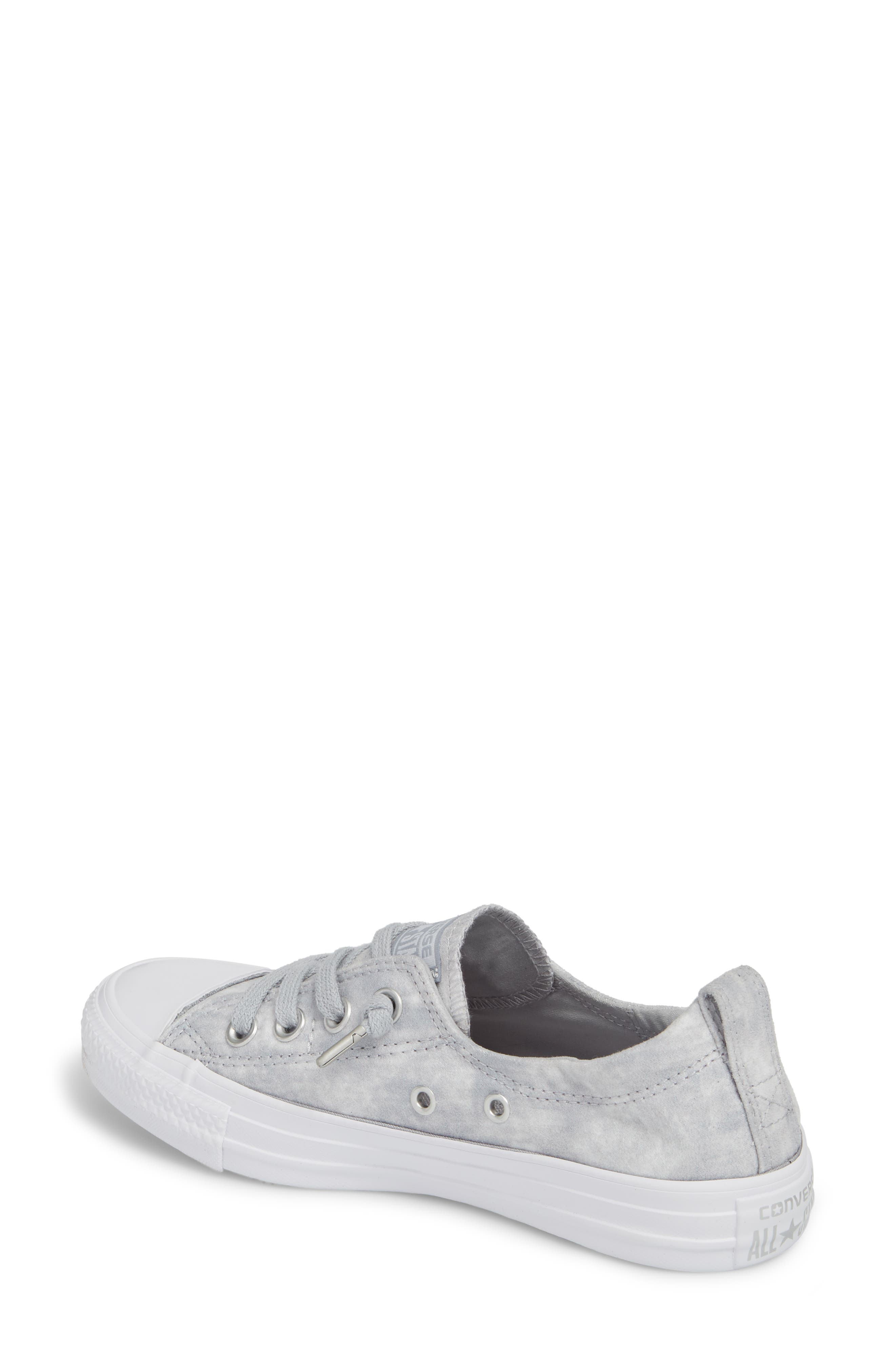 Chuck Taylor<sup>®</sup> All Star<sup>®</sup> Shoreline Peached Twill Sneaker,                             Alternate thumbnail 2, color,                             027