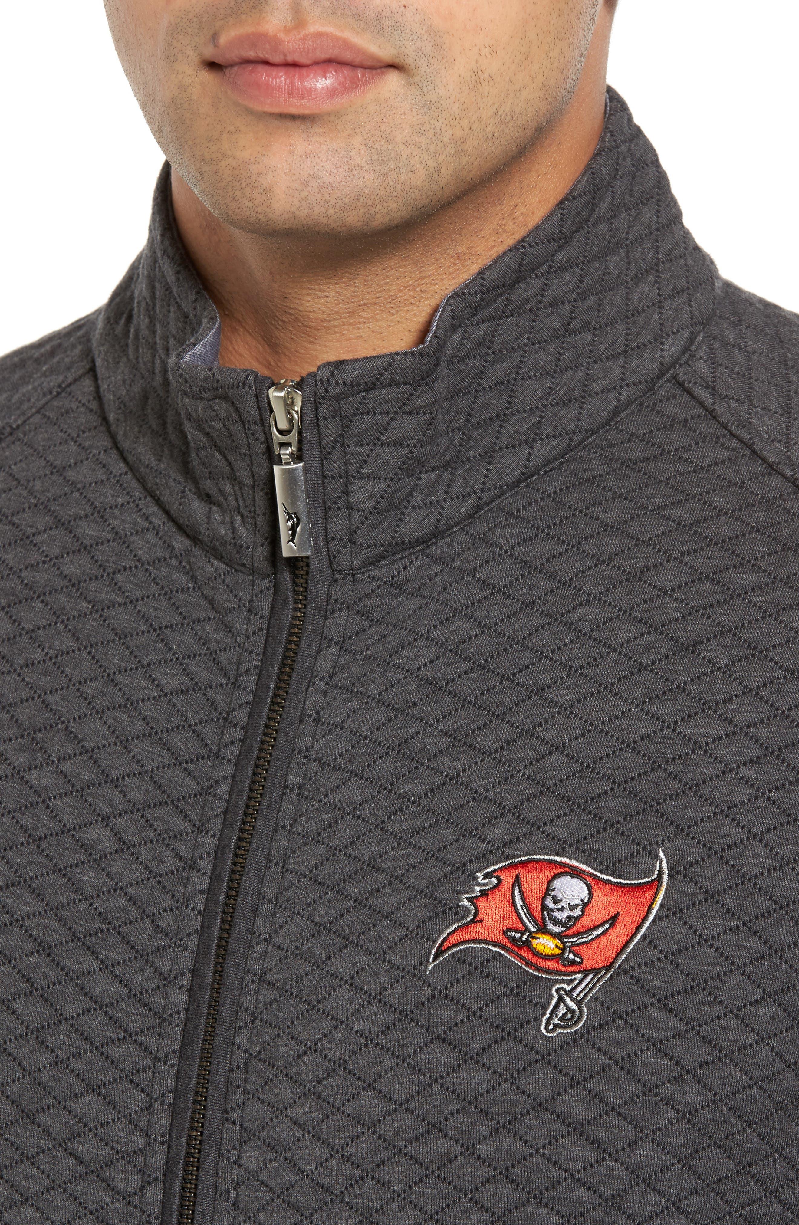 NFL Quiltessential Full Zip Sweatshirt,                             Alternate thumbnail 101, color,
