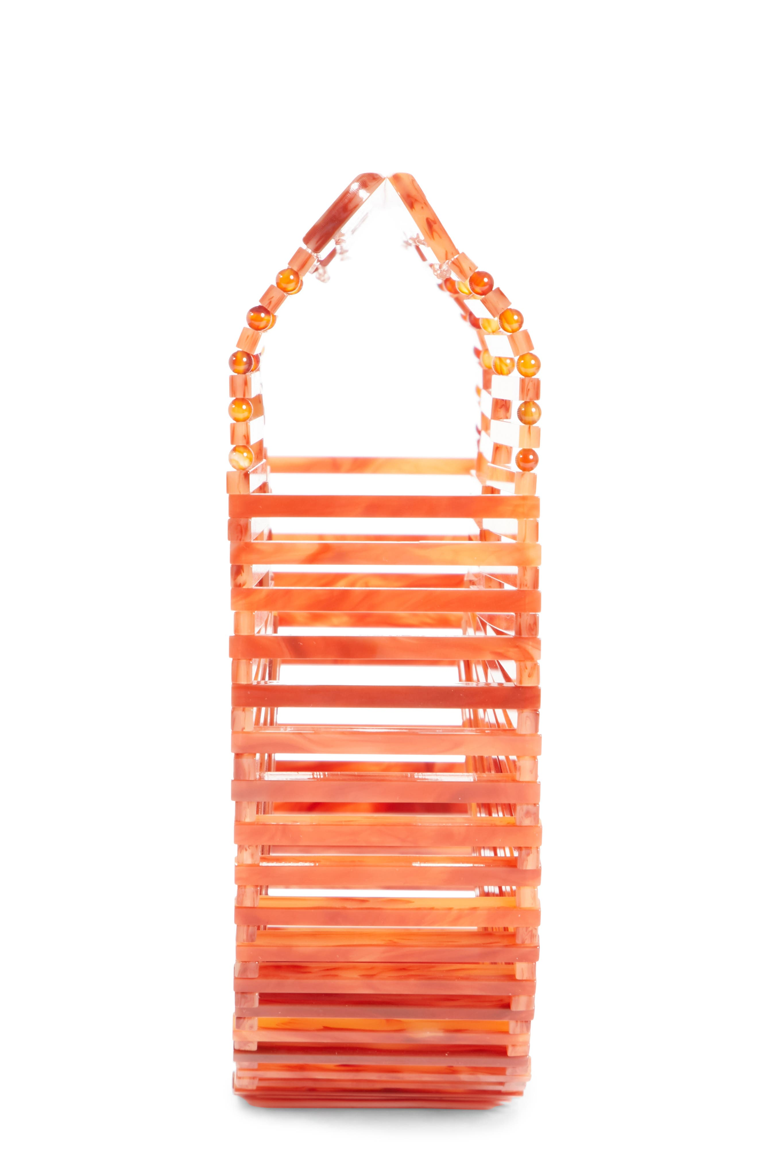 Mini Ark Handbag,                             Alternate thumbnail 5, color,                             AGATE