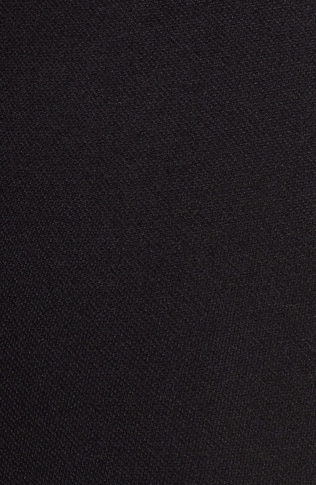 Seamless Bike Shorts,                             Alternate thumbnail 6, color,                             BLACK