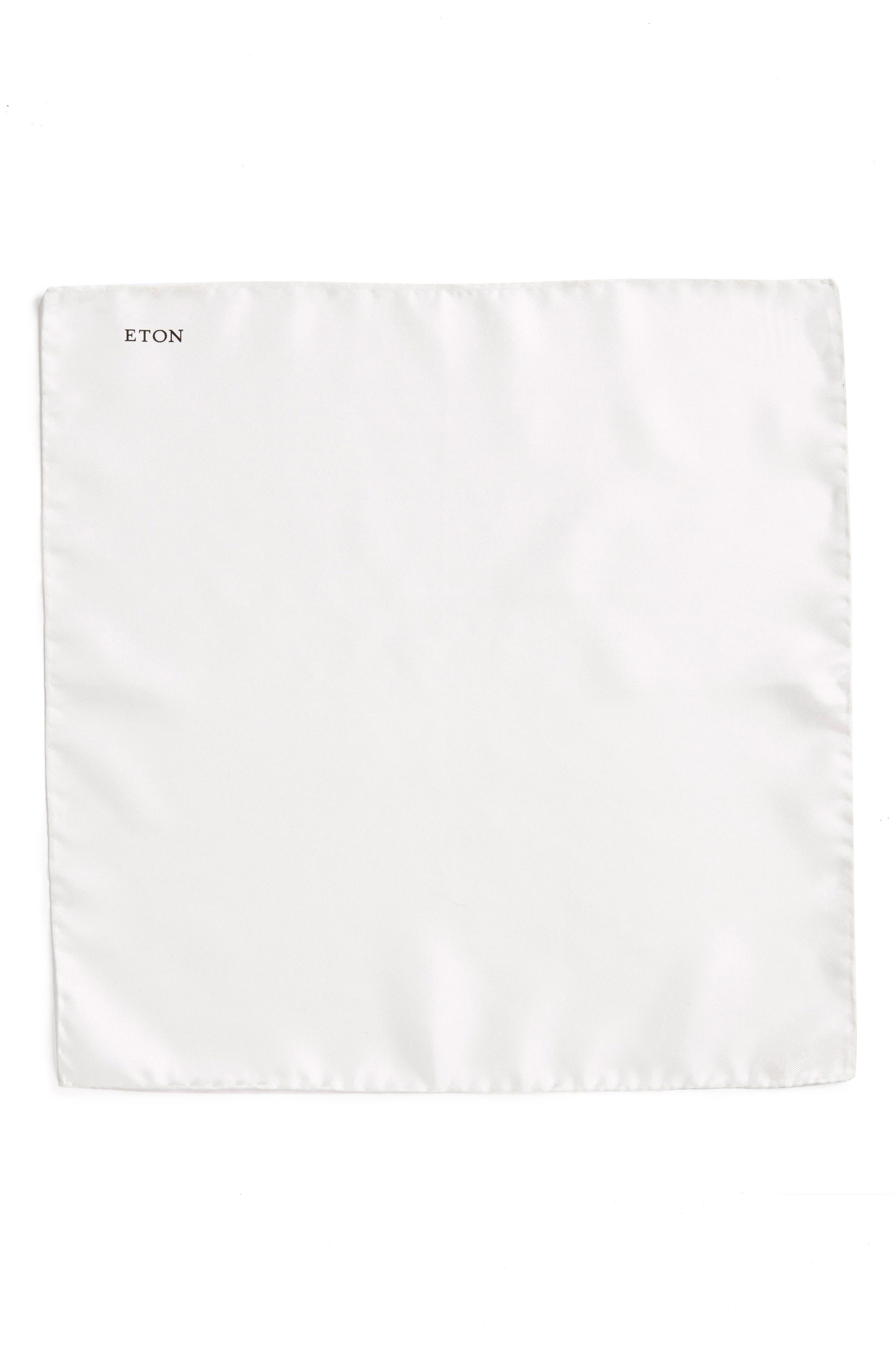 Silk Pocket Square,                             Alternate thumbnail 3, color,