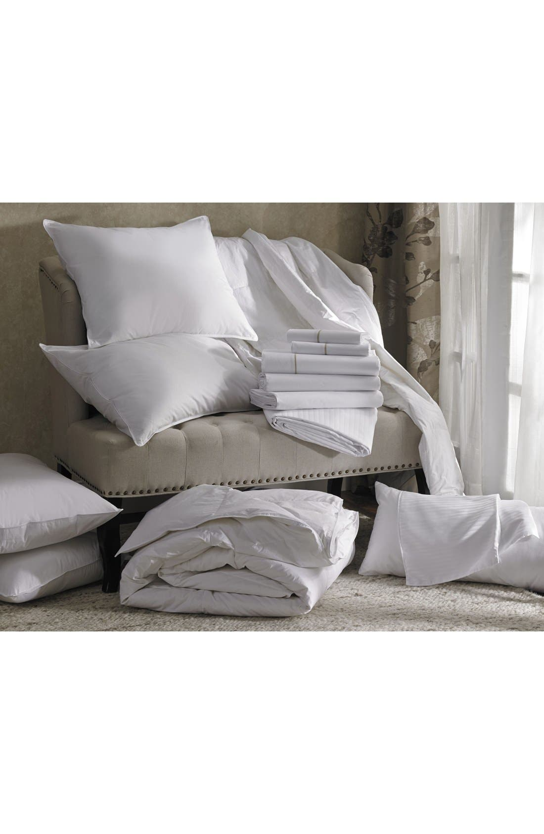 'Ultra Luxe' 600 Thread Count Fitted Sheet,                             Alternate thumbnail 3, color,                             100