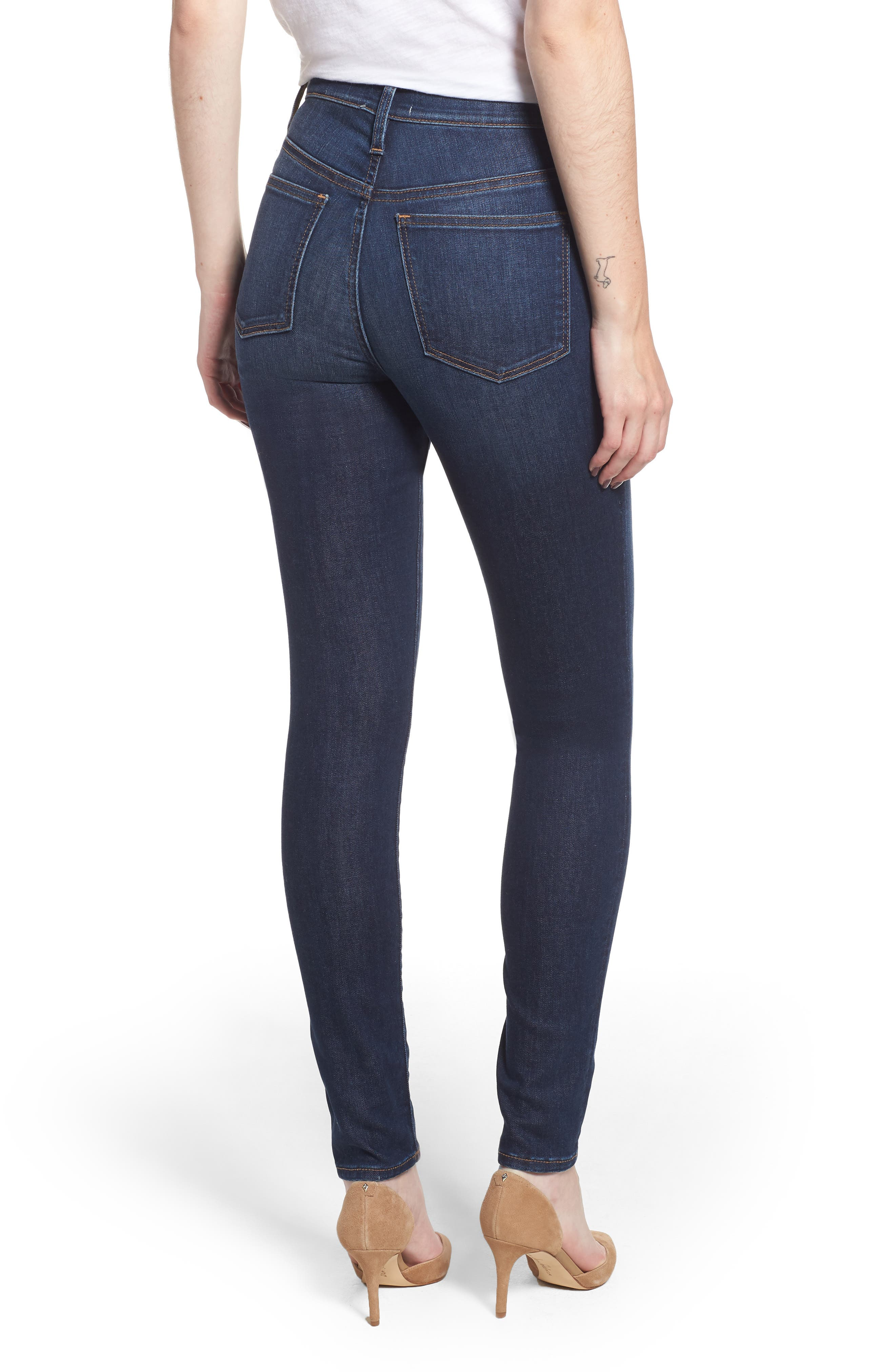 Skinny Jeans,                             Alternate thumbnail 2, color,                             DARK SOFT